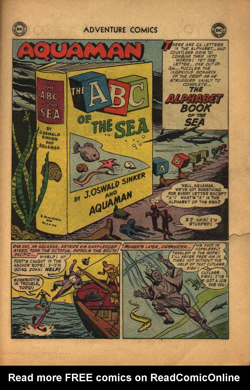Read online Adventure Comics (1938) comic -  Issue #240 - 27