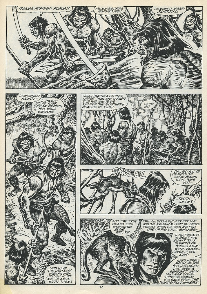 The Savage Sword Of Conan Issue #193 #194 - English 19