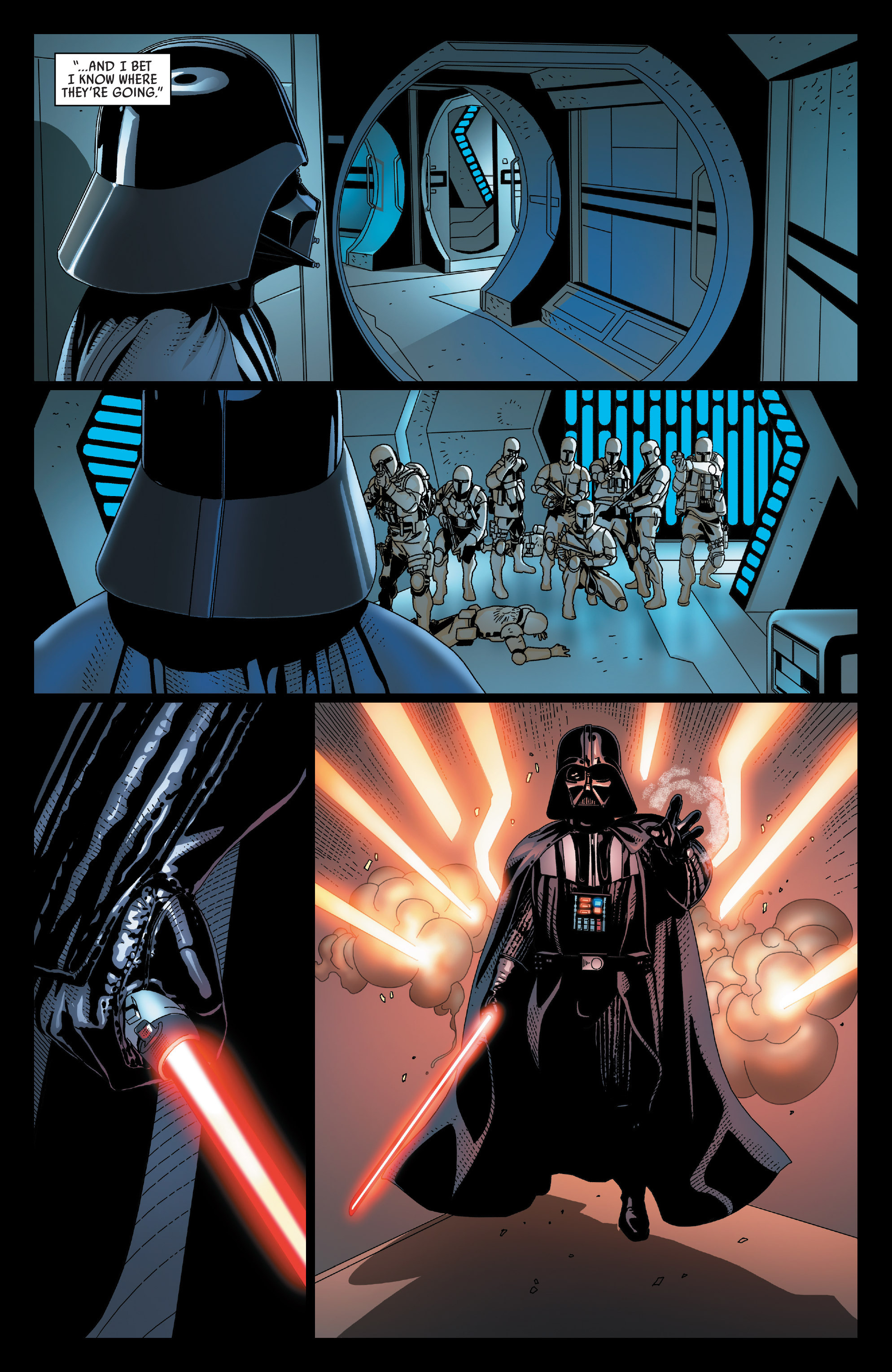 Read online Darth Vader comic -  Issue #23 - 18