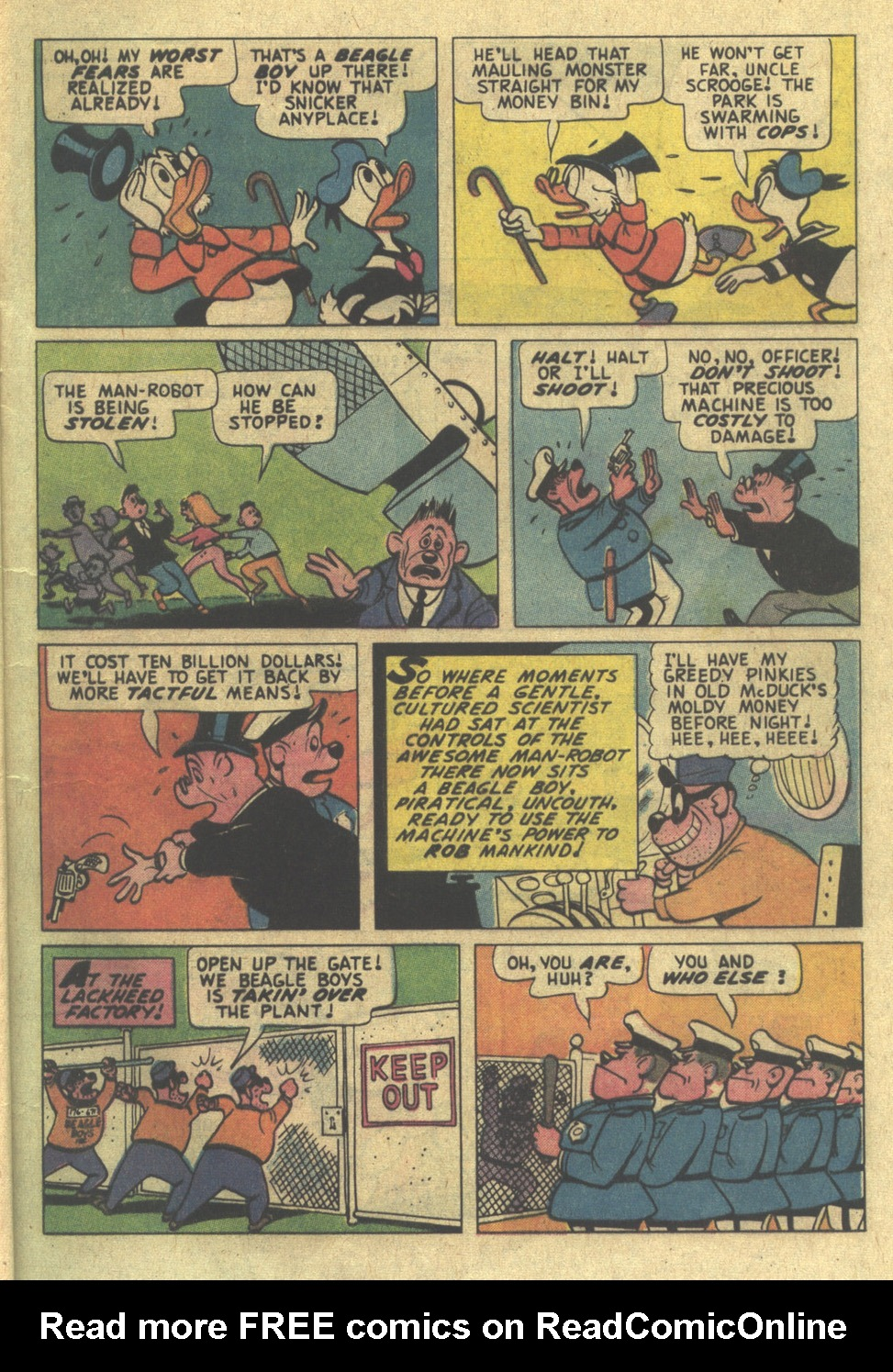 Uncle Scrooge (1953) Issue #115 #115 - English 9