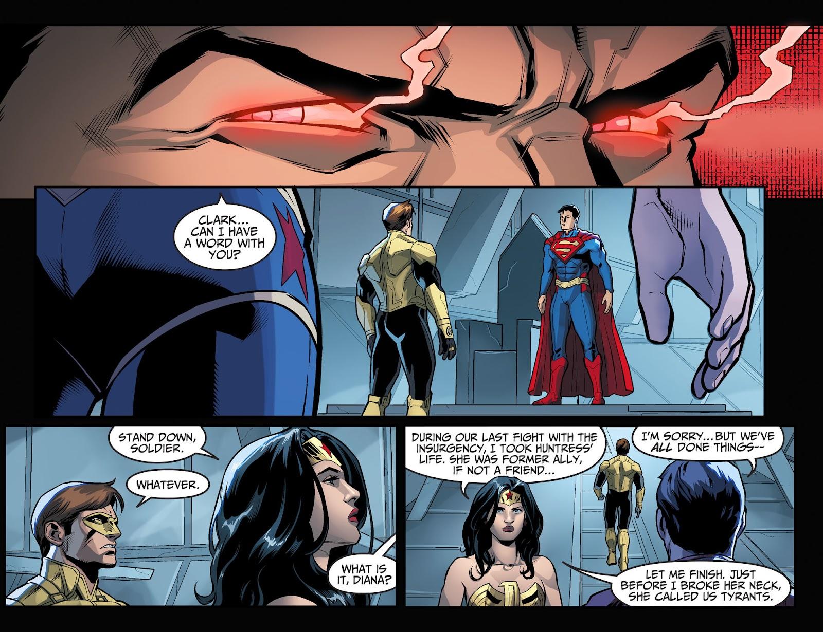 Injustice: Gods Among Us Year Four Issue #1 #2 - English 13