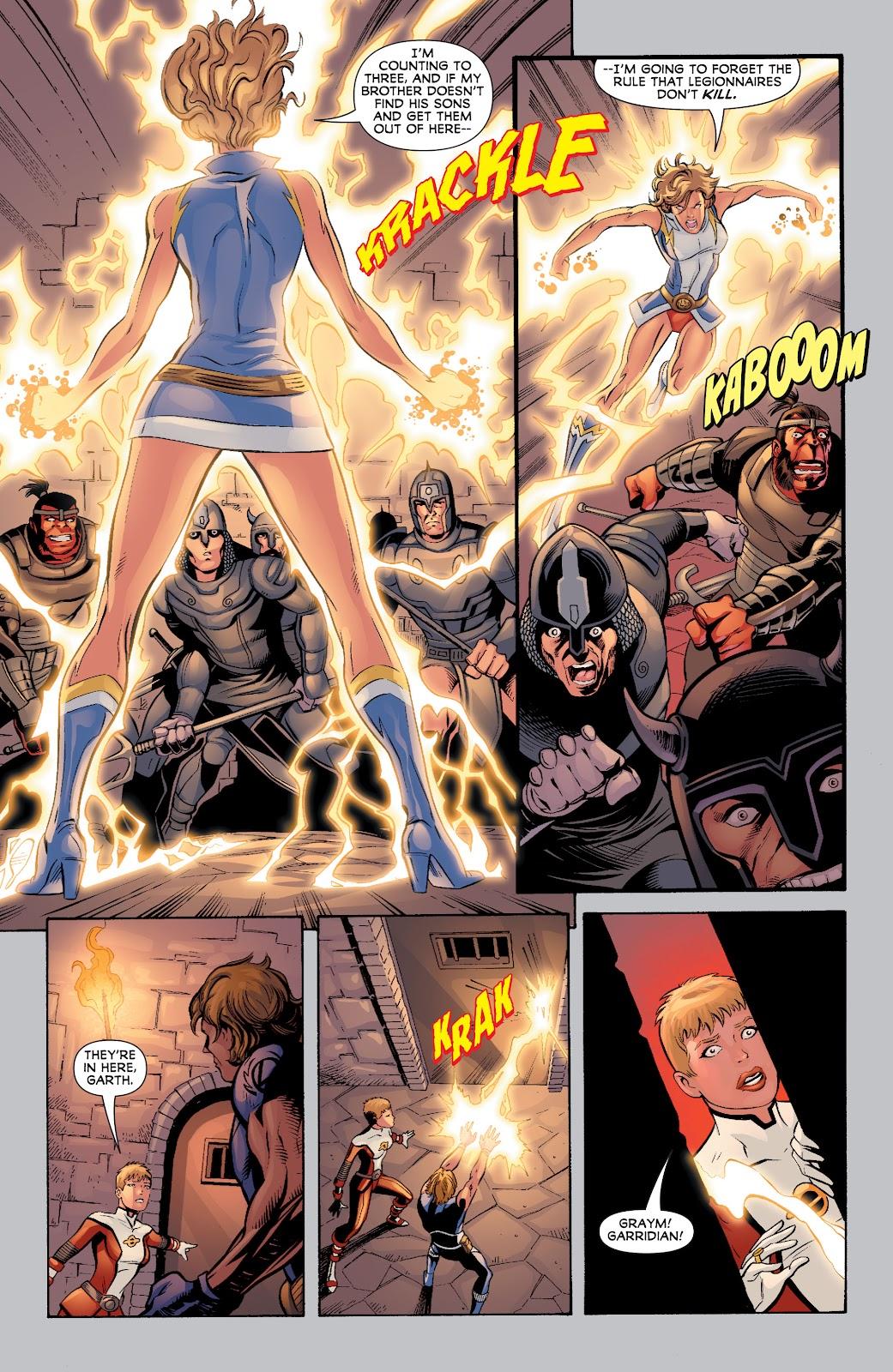 Legion of Super-Heroes (2010) Issue #4 #5 - English 27