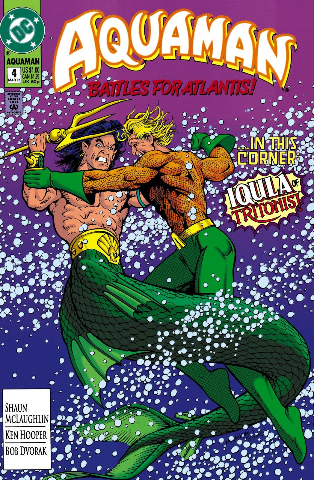 Aquaman (1991) Issue #4 #4 - English 1