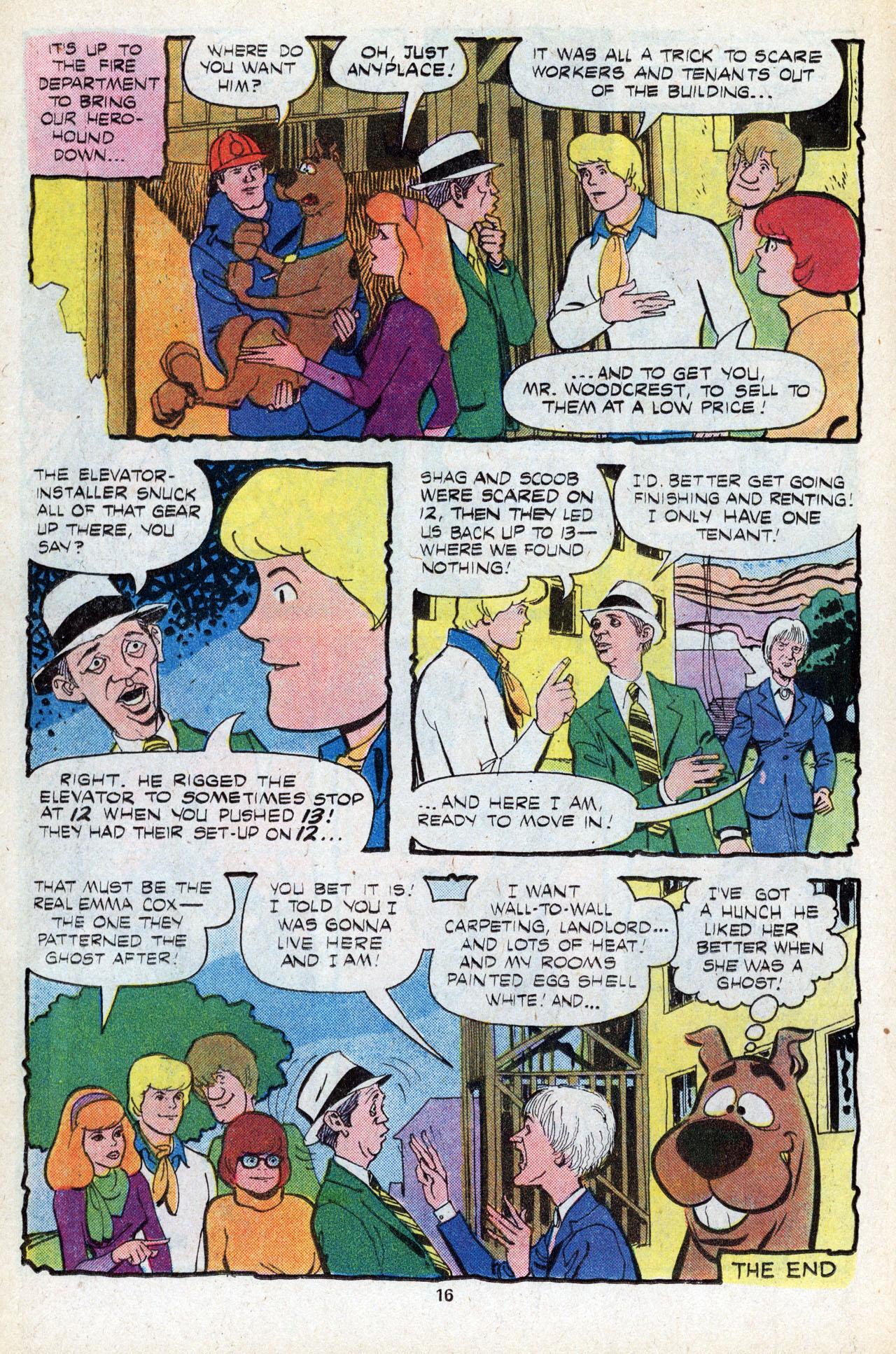 Read online Scooby-Doo (1977) comic -  Issue #5 - 18