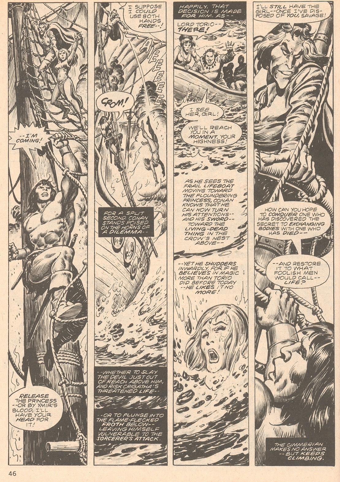 The Savage Sword Of Conan Issue #66 #67 - English 46