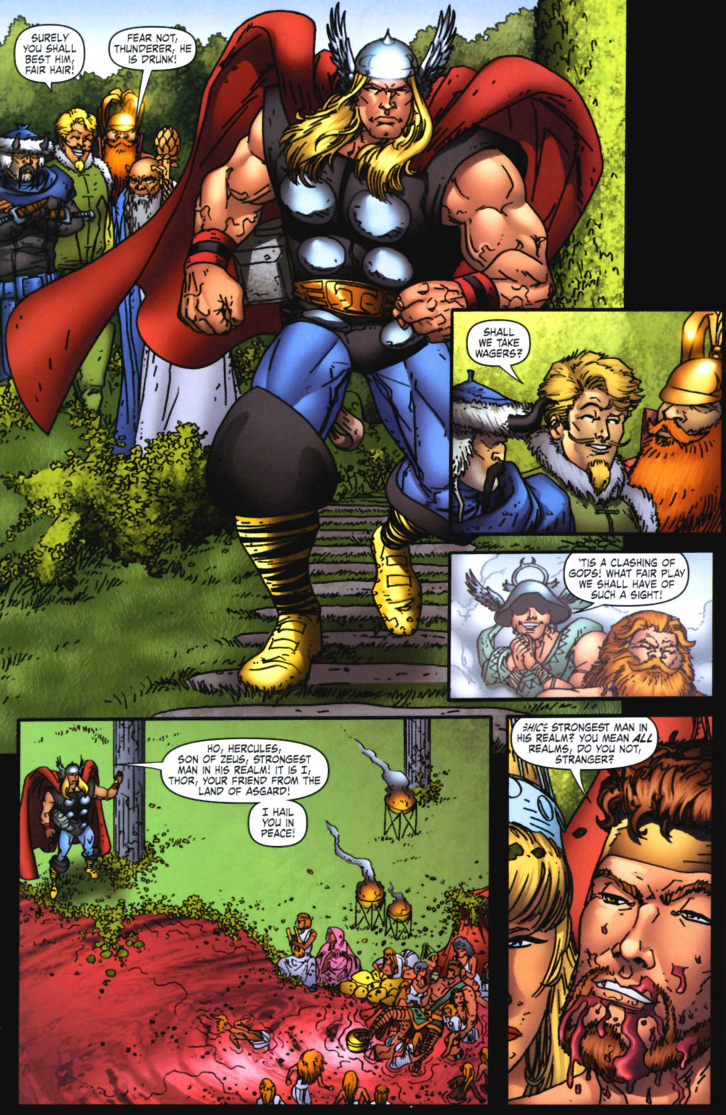 Read online Thor: Blood Oath comic -  Issue #3 - 4