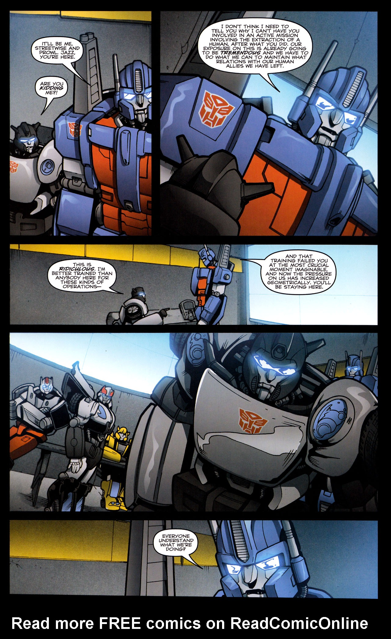 Read online The Transformers (2009) comic -  Issue #29 - 11