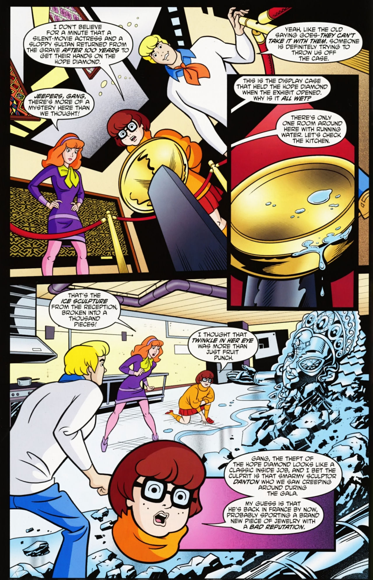 Read online Scooby-Doo: Where Are You? comic -  Issue #12 - 14