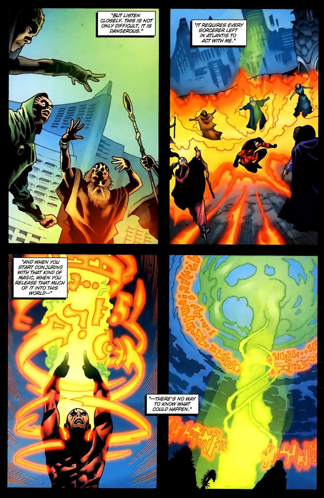Aquaman (2003) Issue #36 #36 - English 22