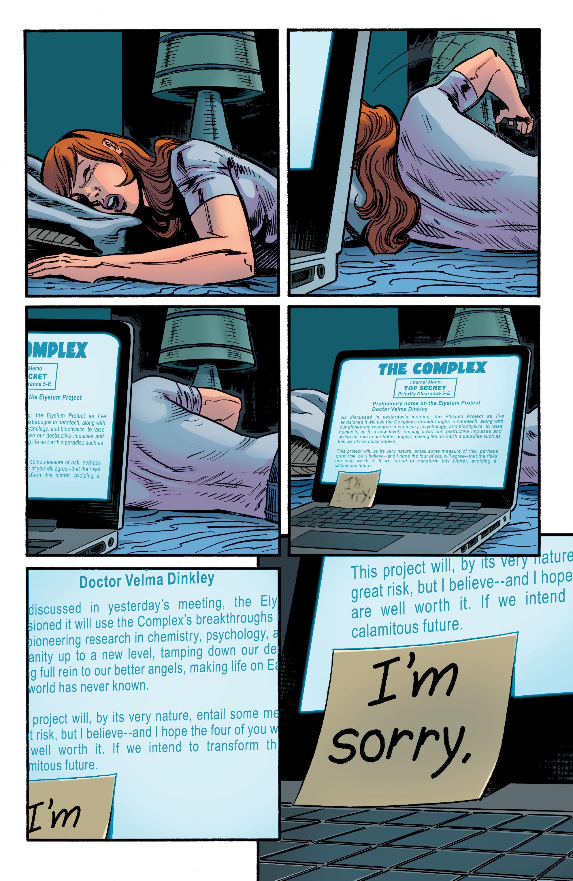 Read online Scooby Apocalypse comic -  Issue #9 - 18