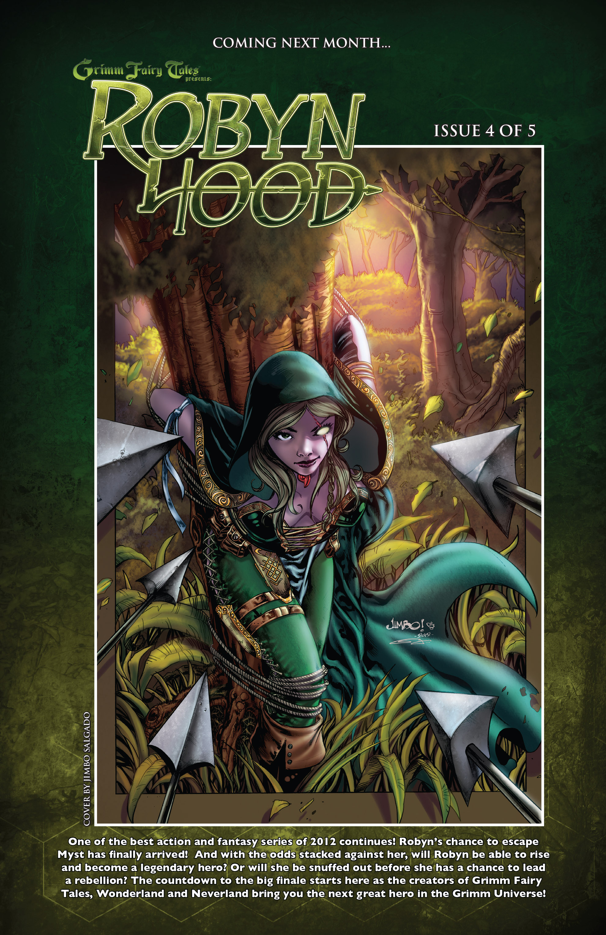 Read online Grimm Fairy Tales presents Robyn Hood (2012) comic -  Issue #3 - 25