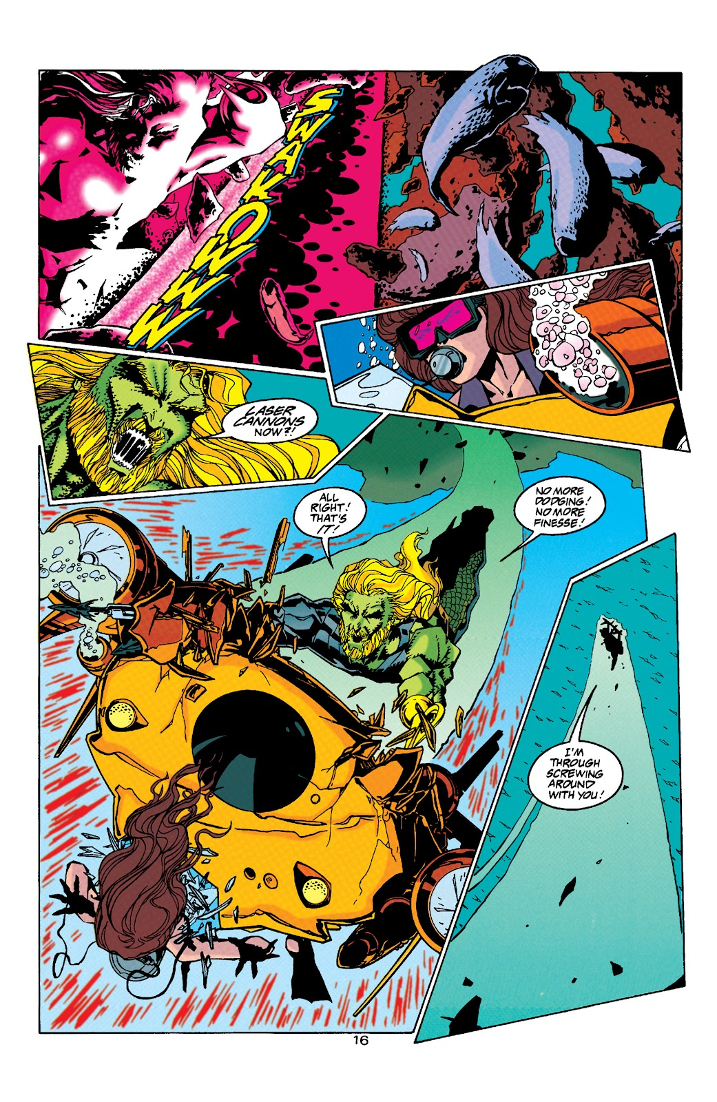 Aquaman (1994) Issue #32 #38 - English 16