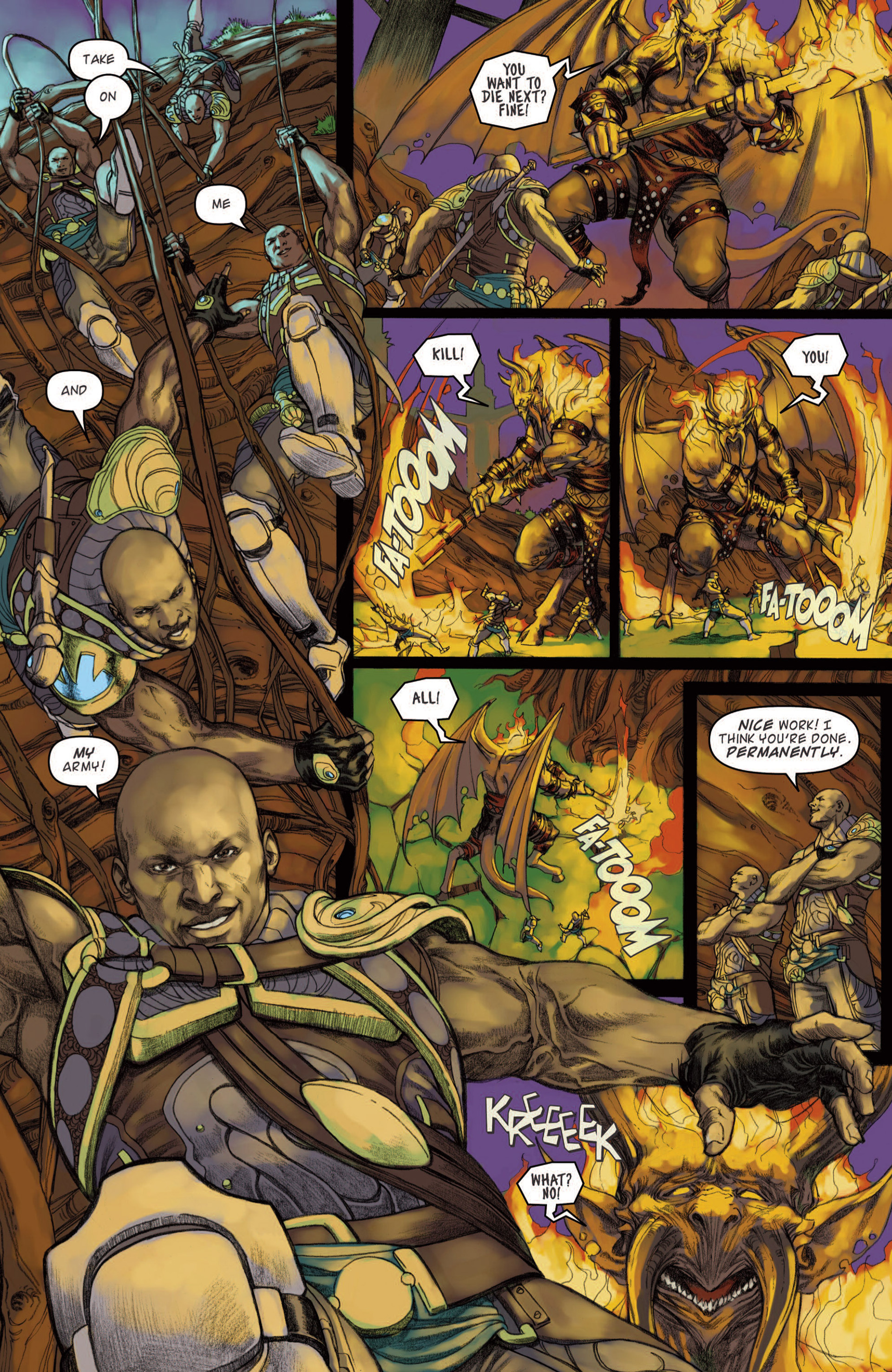 Read online Magic: The Gathering--Path of Vengeance comic -  Issue #4 - 13