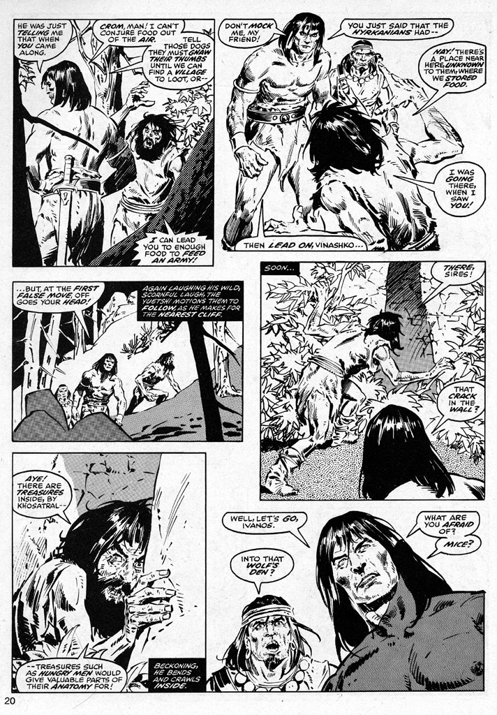 The Savage Sword Of Conan Issue #38 #39 - English 20