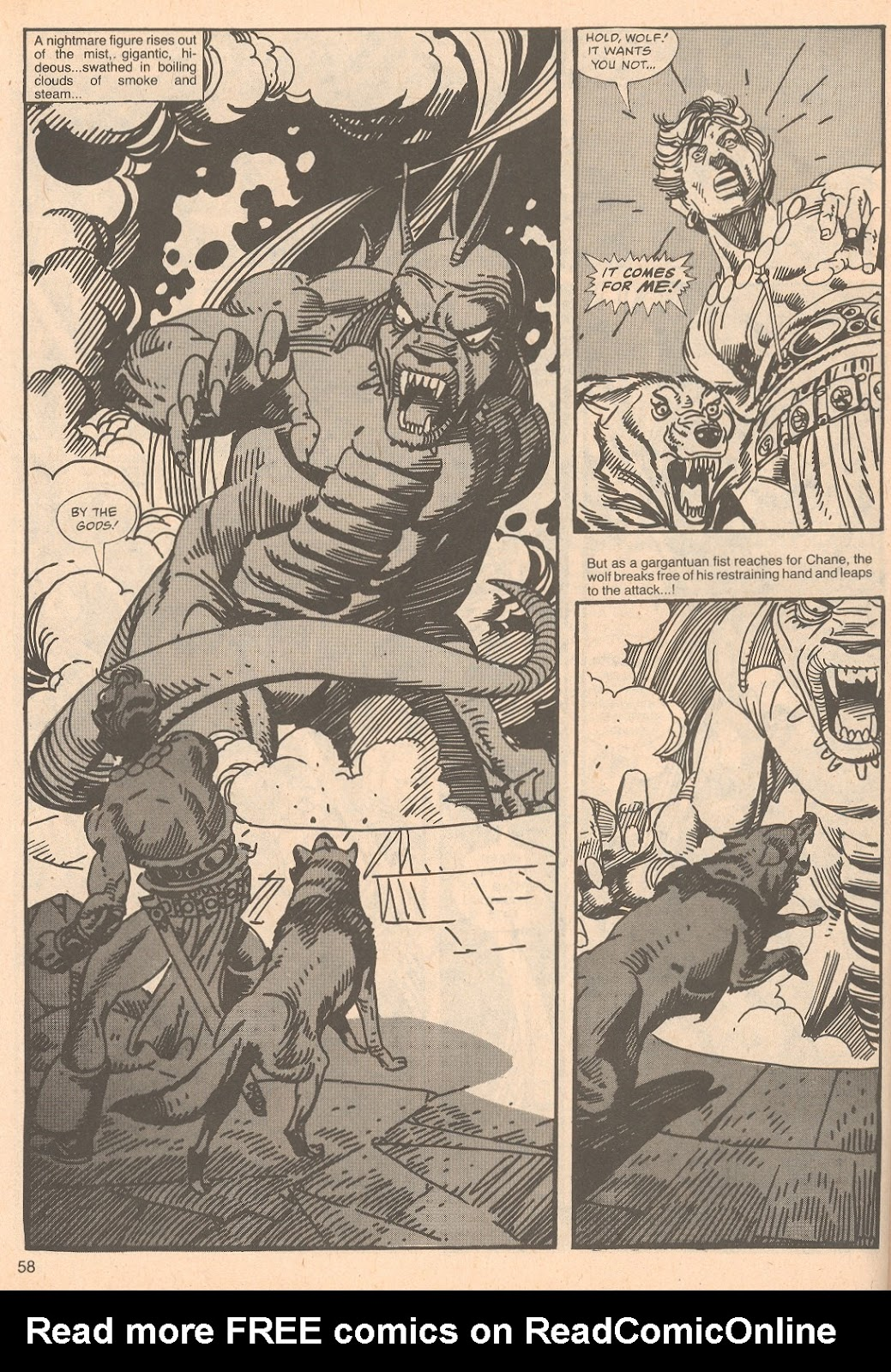 The Savage Sword Of Conan Issue #67 #68 - English 58