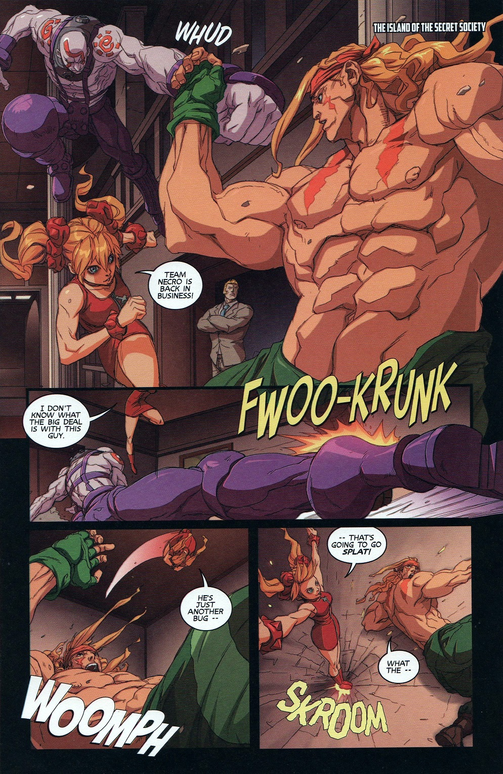Street Fighter Unlimited Issue #9 #11 - English 5