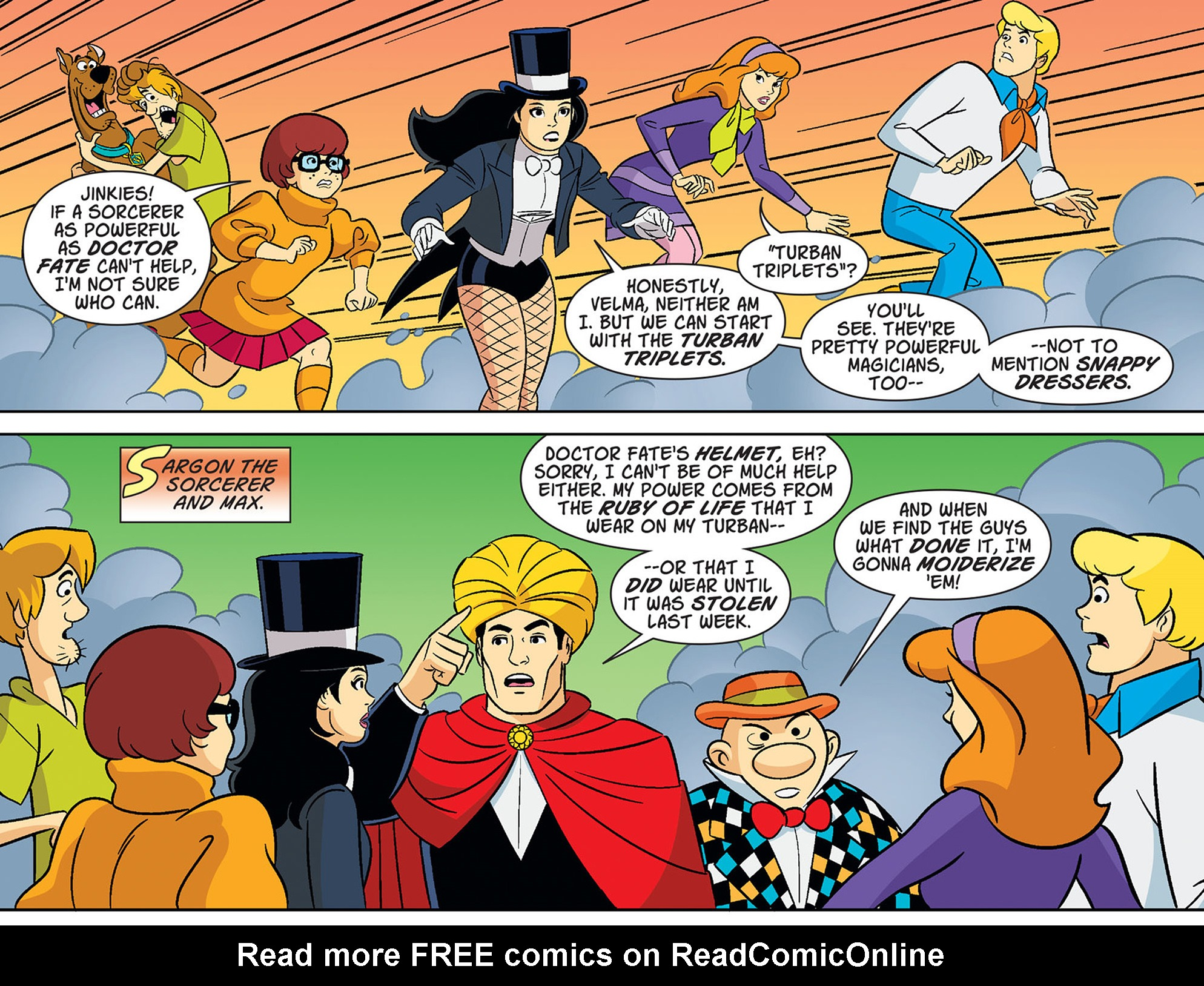 Read online Scooby-Doo! Team-Up comic -  Issue #37 - 12