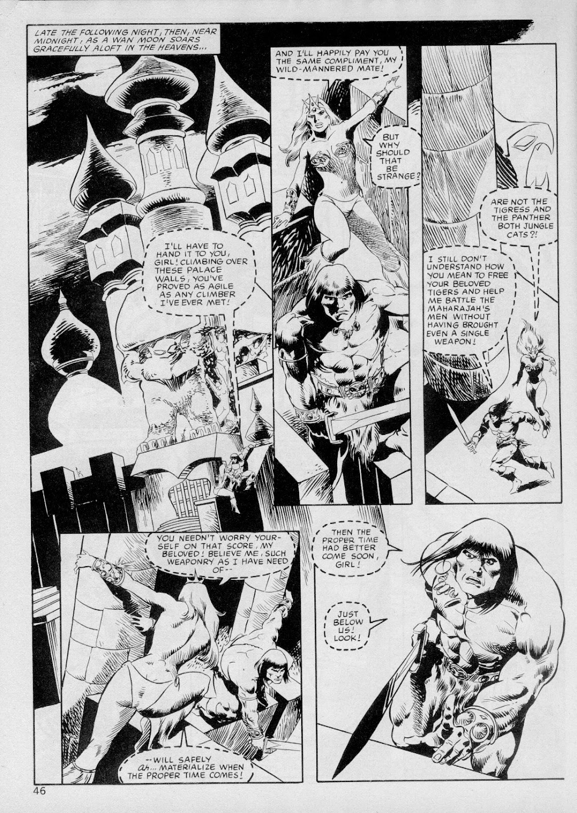 The Savage Sword Of Conan Issue #103 #104 - English 45