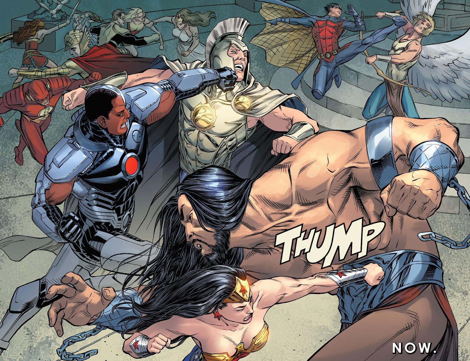 Injustice: Gods Among Us Year Four Issue #23 #24 - English 7