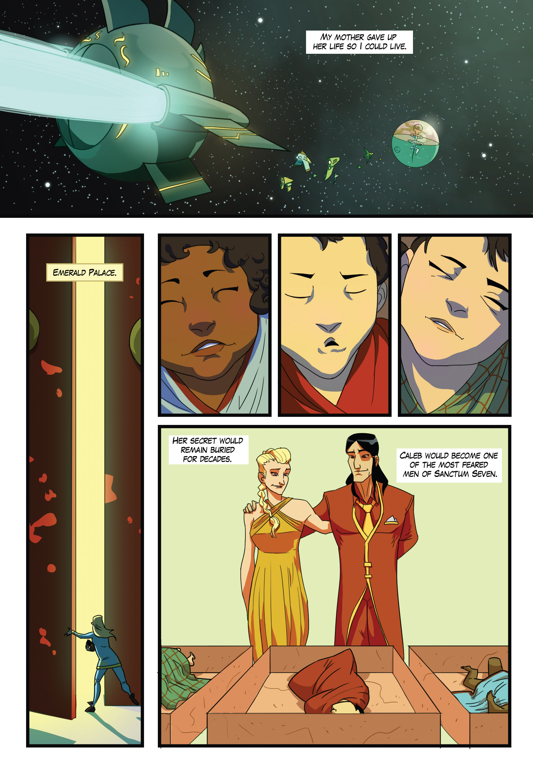 Read online Scavenger comic -  Issue #1 - 9