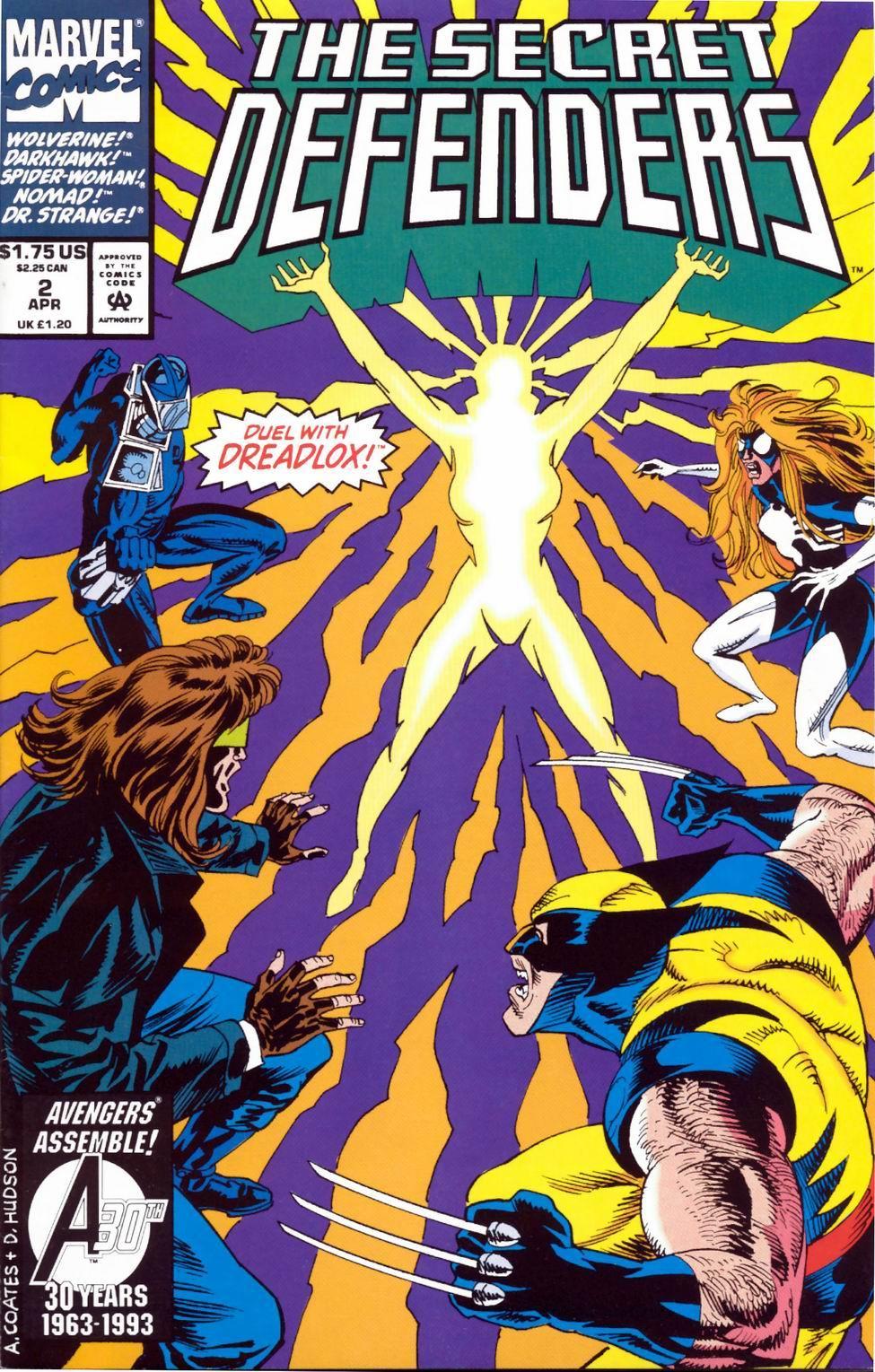 Read online Secret Defenders comic -  Issue #2 - 1