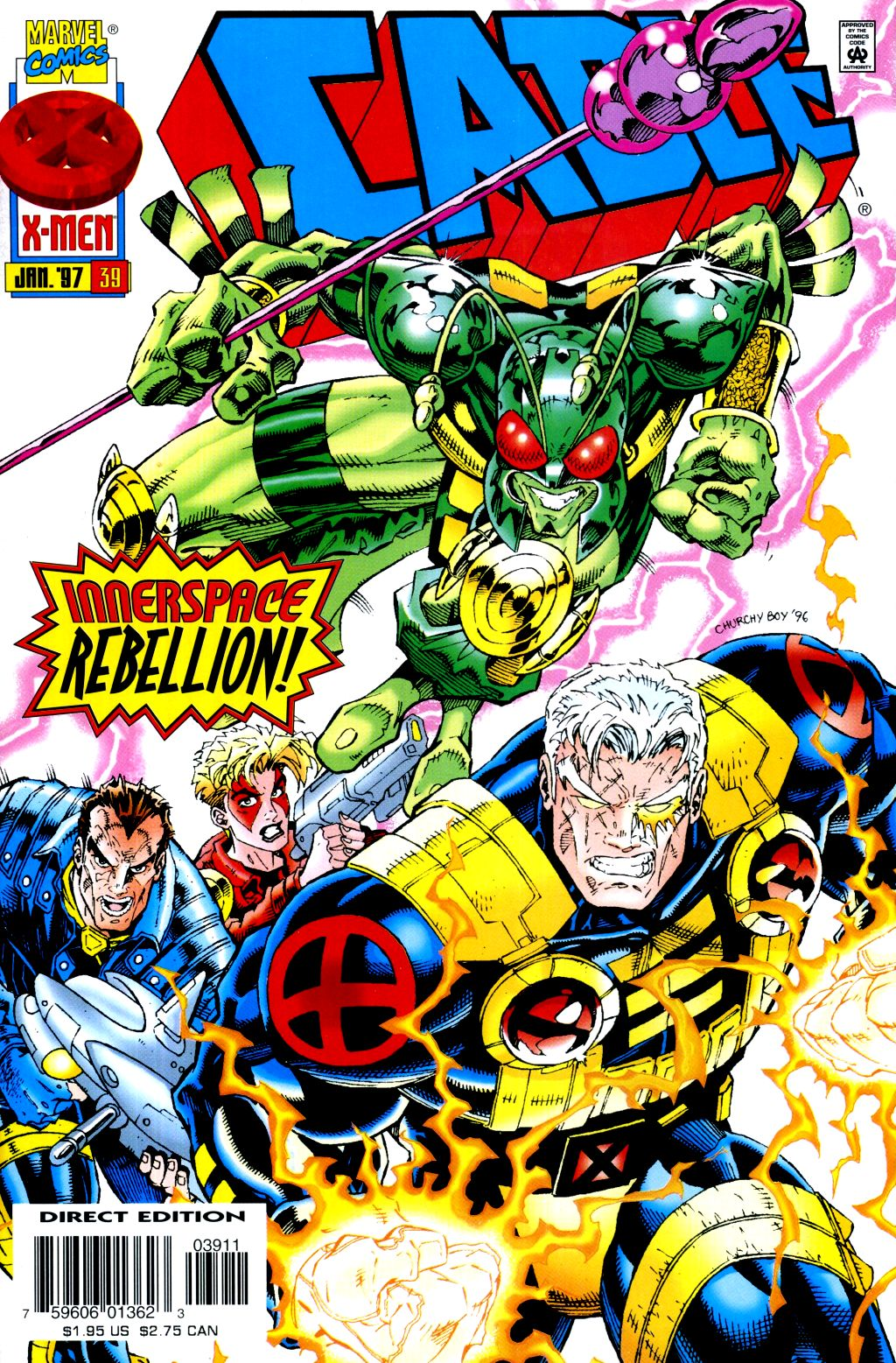 Cable (1993) 39 Page 1