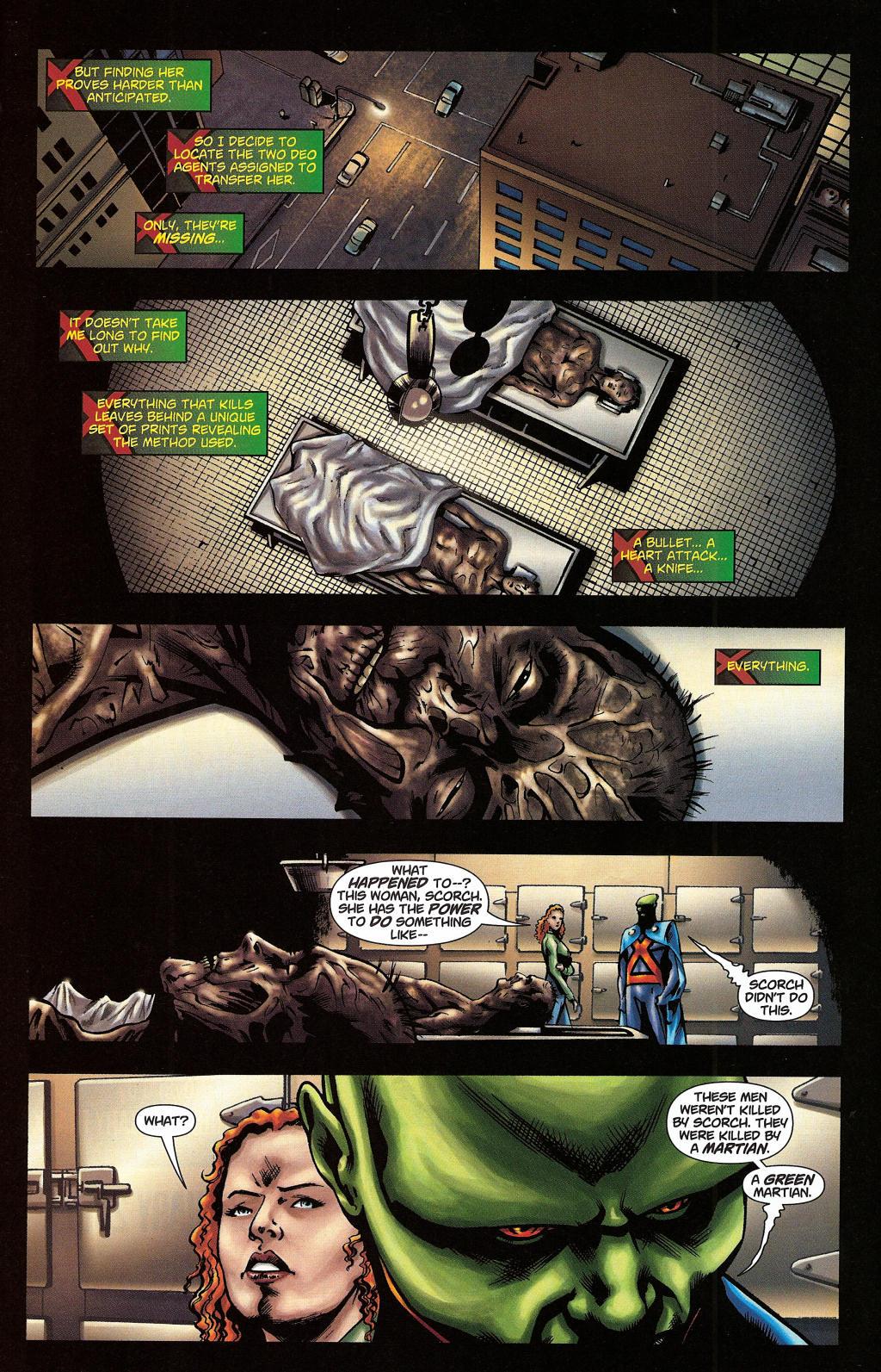 Read online Martian Manhunter (2006) comic -  Issue #5 - 31