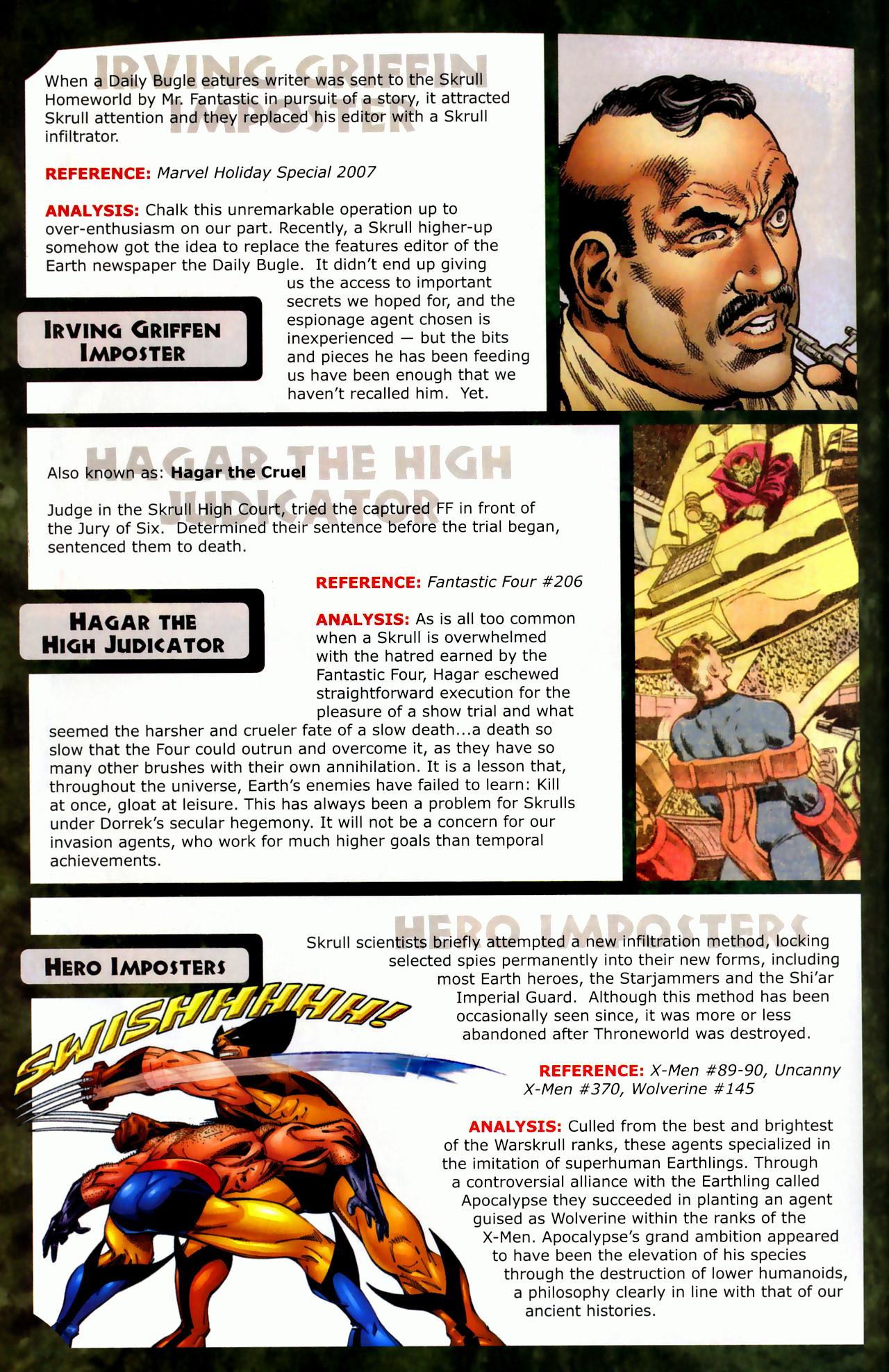 Read online Skrulls! comic -  Issue # Full - 18