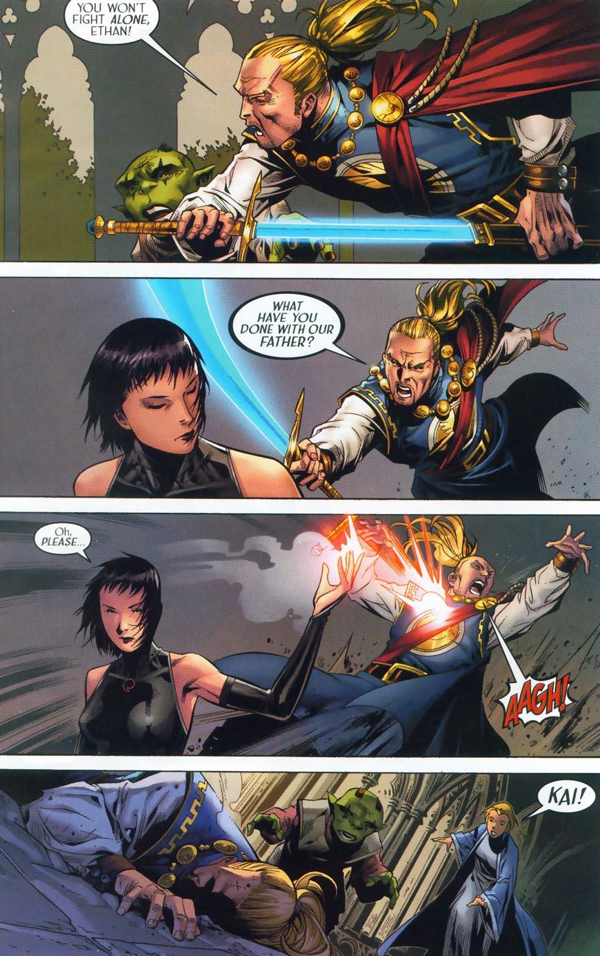 Read online Scion comic -  Issue #36 - 18
