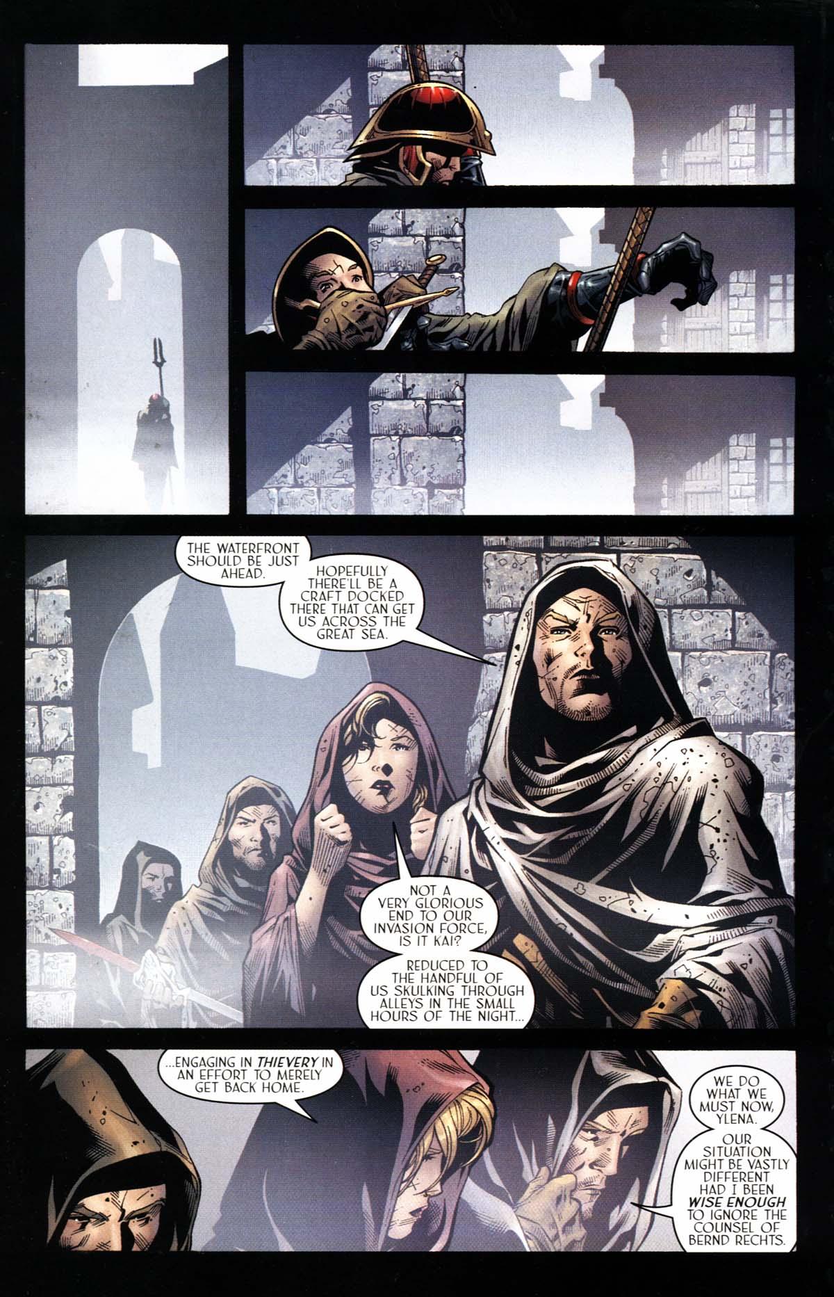 Read online Scion comic -  Issue #23 - 22