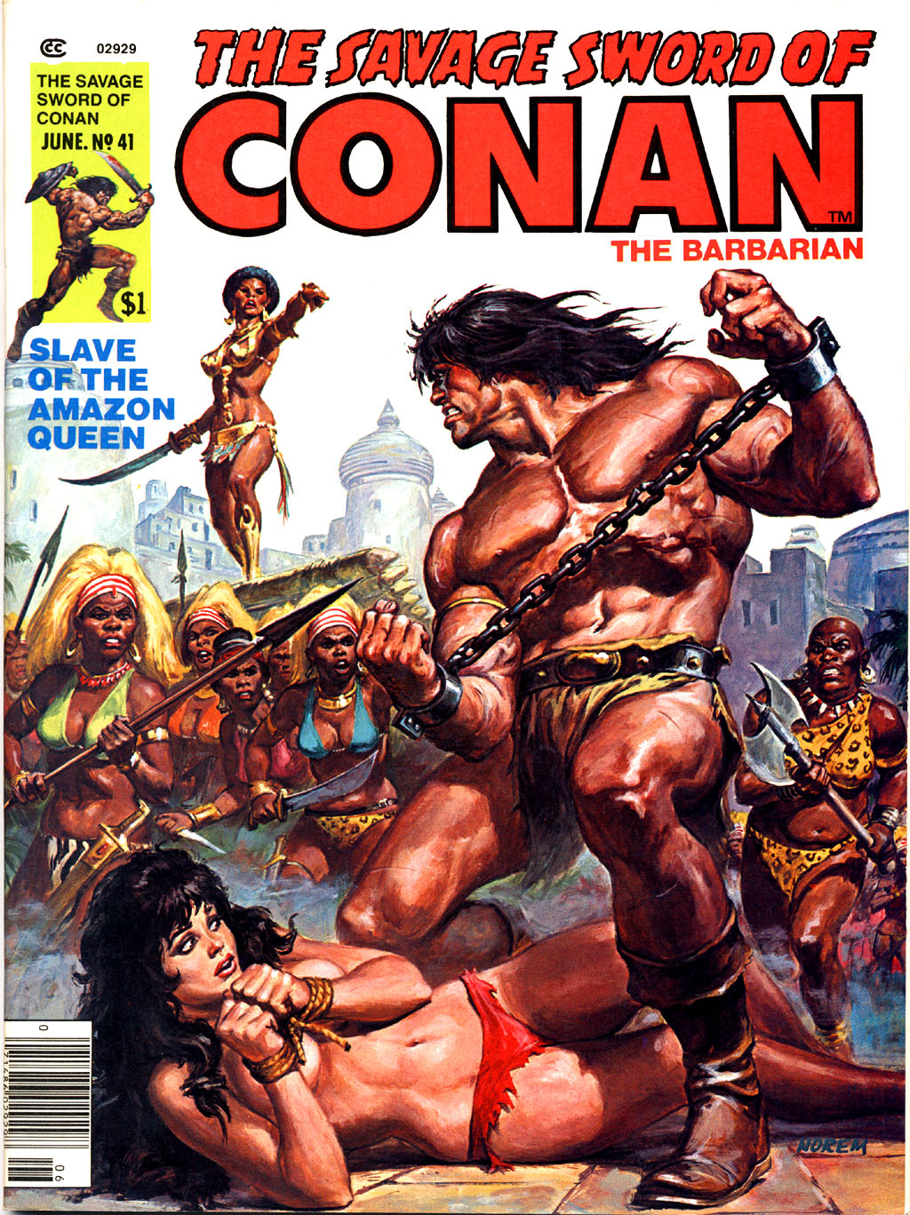 The Savage Sword Of Conan Issue #41 #42 - English 1