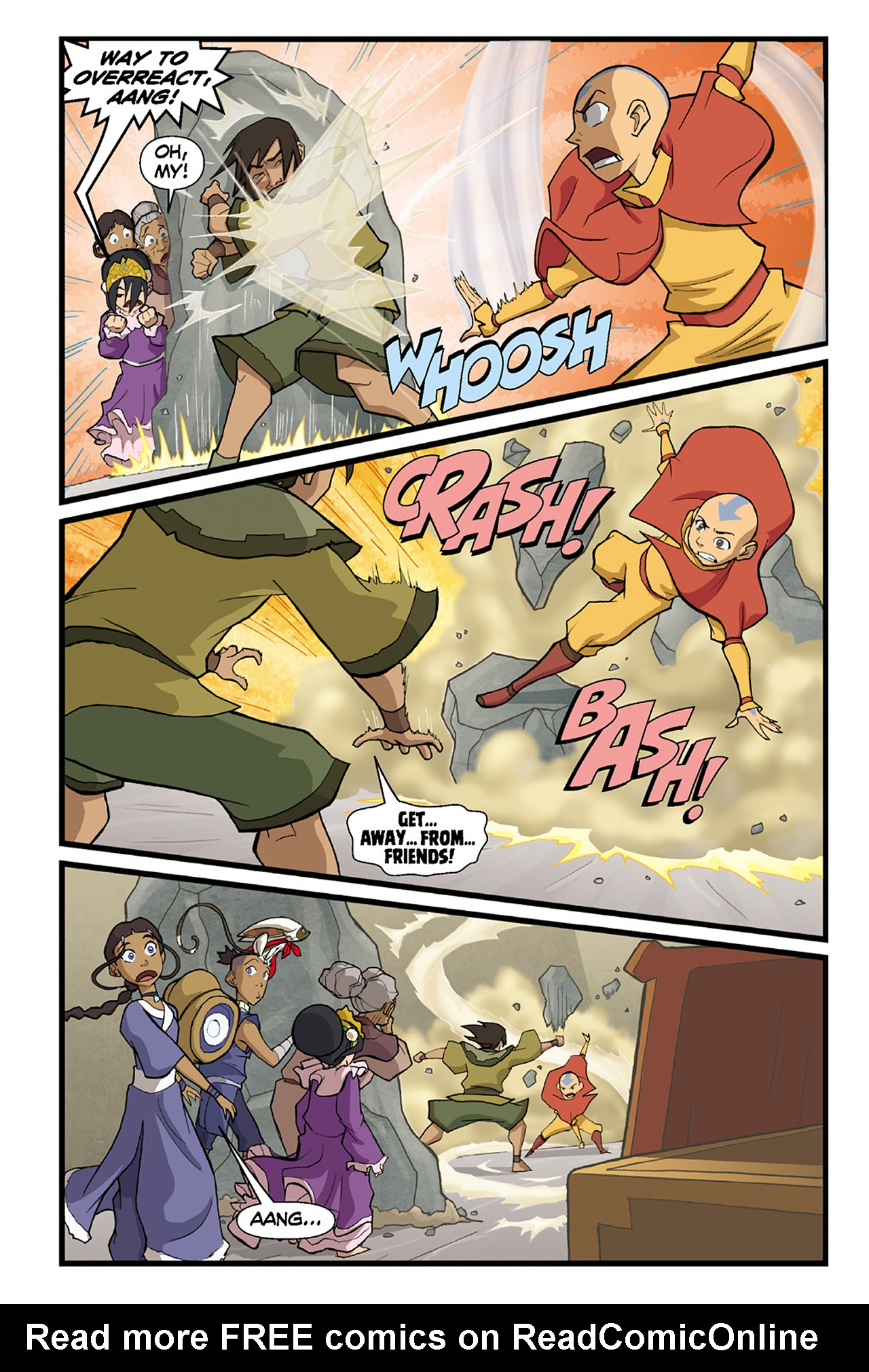 Nickelodeon Avatar: The Last Airbender - The Lost Adventures chap full pic 76