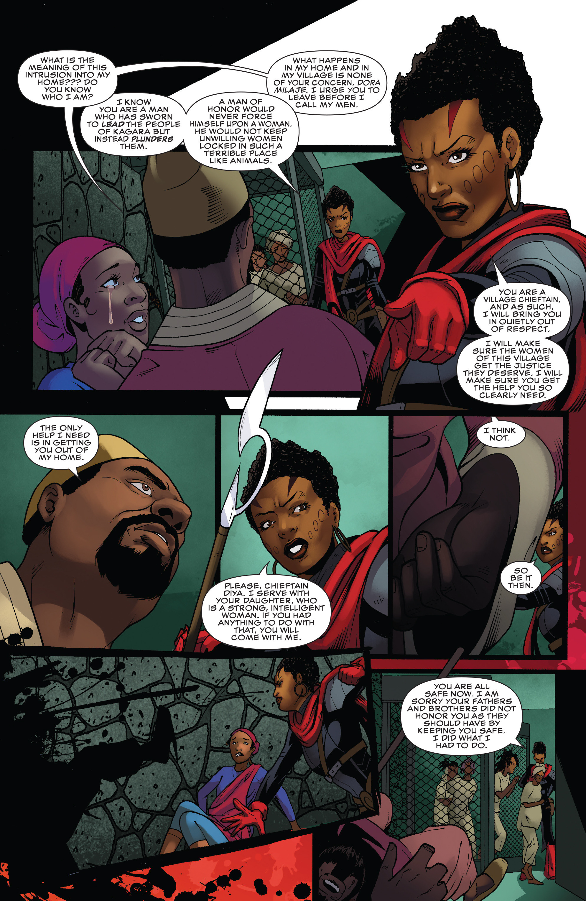 Read online Black Panther: World of Wakanda comic -  Issue #4 - 18