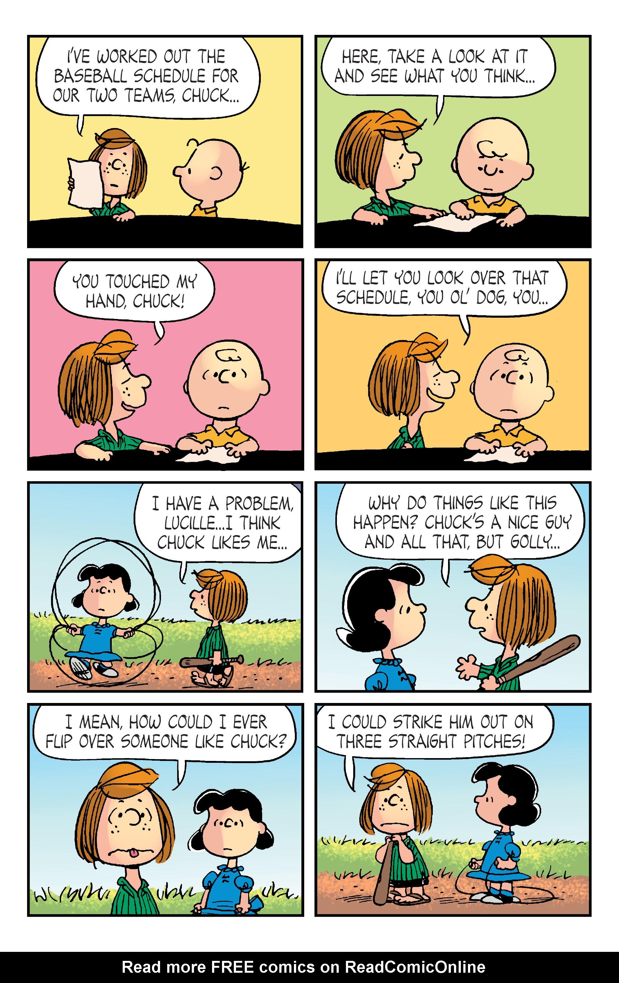 Read online Peanuts (2012) comic -  Issue #20 - 10