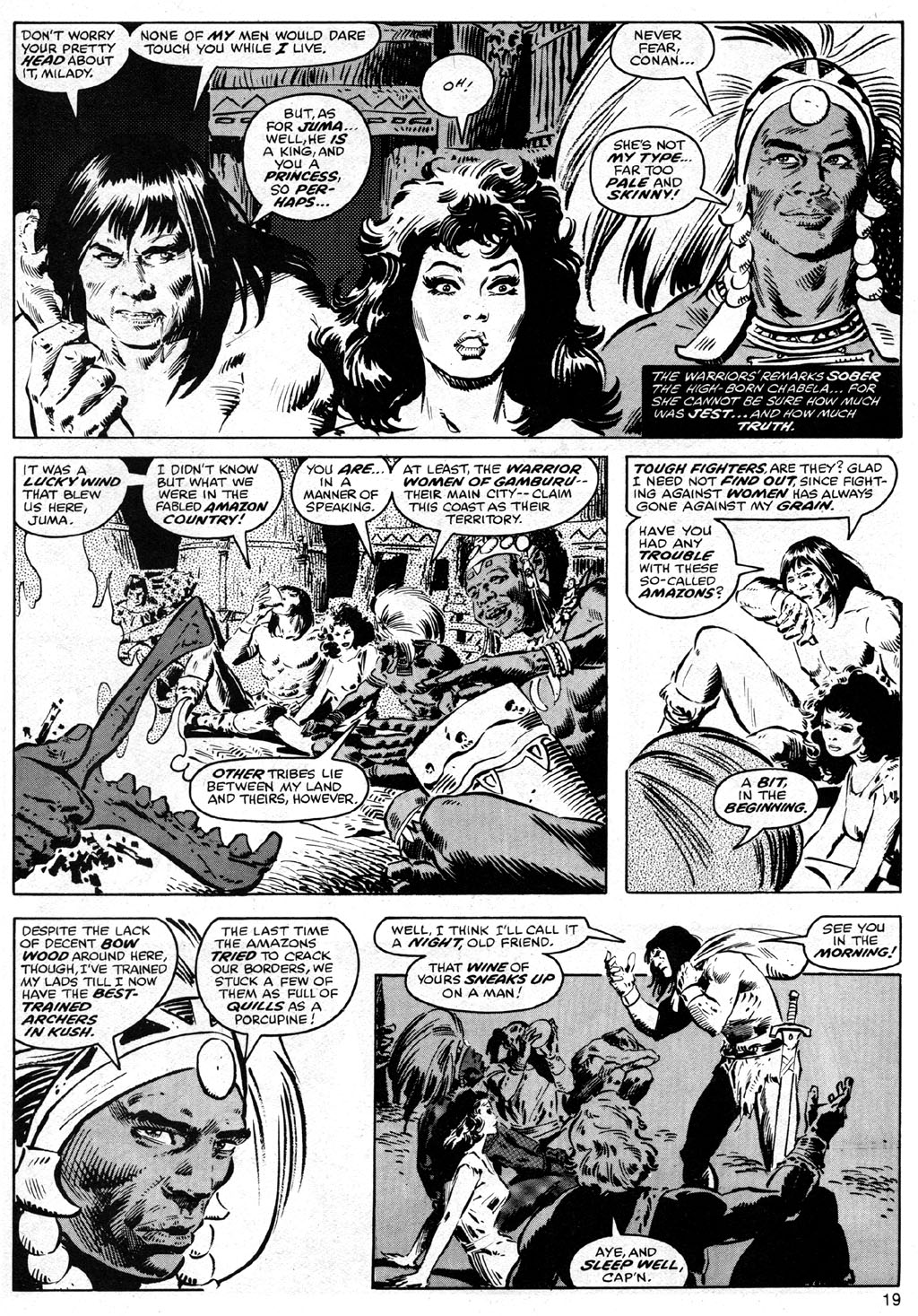 The Savage Sword Of Conan Issue #41 #42 - English 19