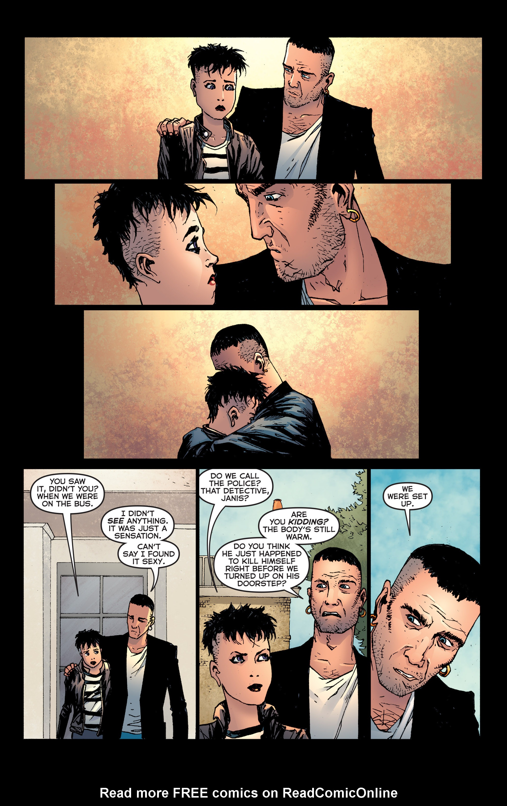 Read online Second Sight comic -  Issue #4 - 7