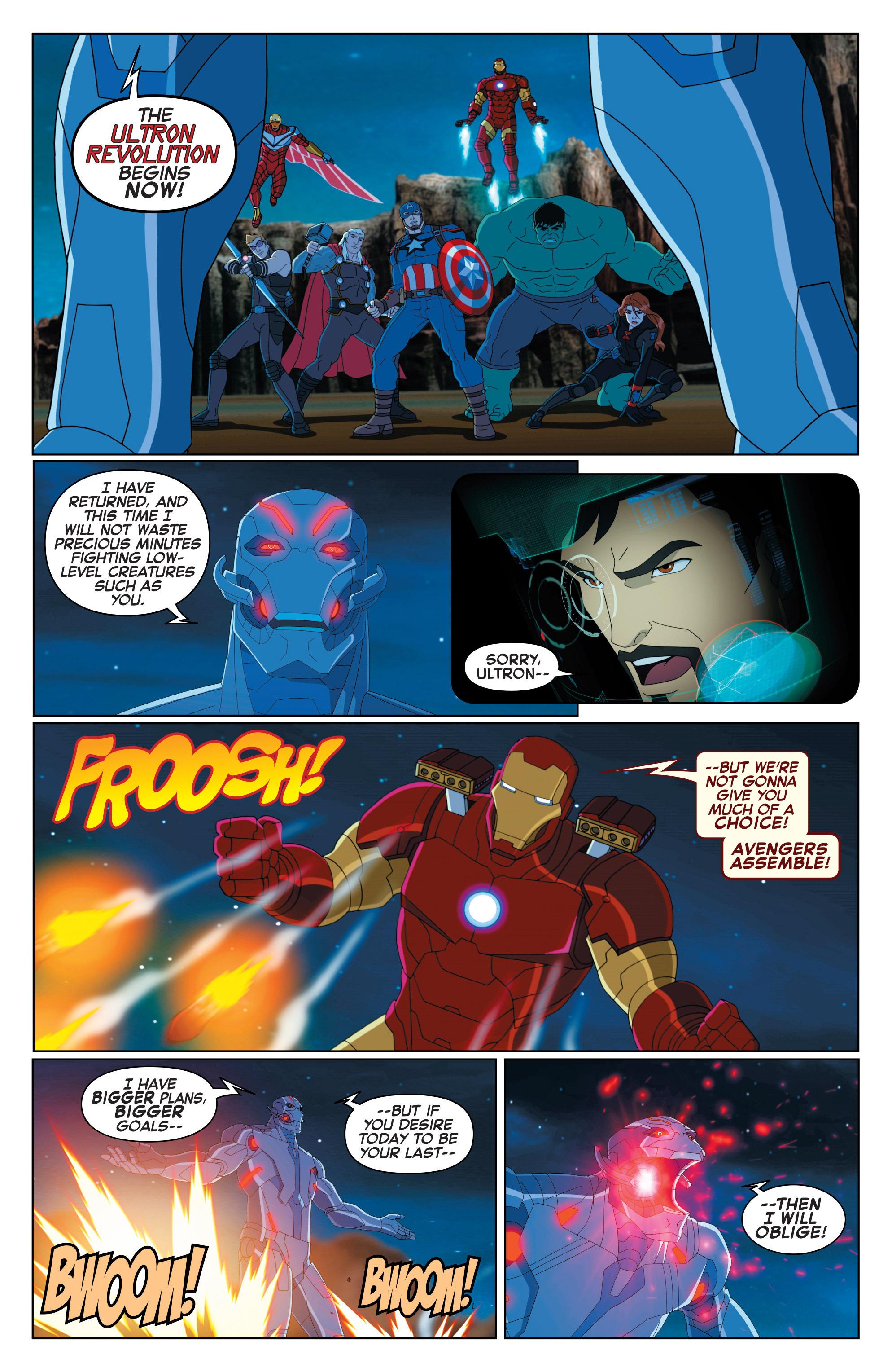 Read online Marvel Universe Avengers: Ultron Revolution comic -  Issue #2 - 3