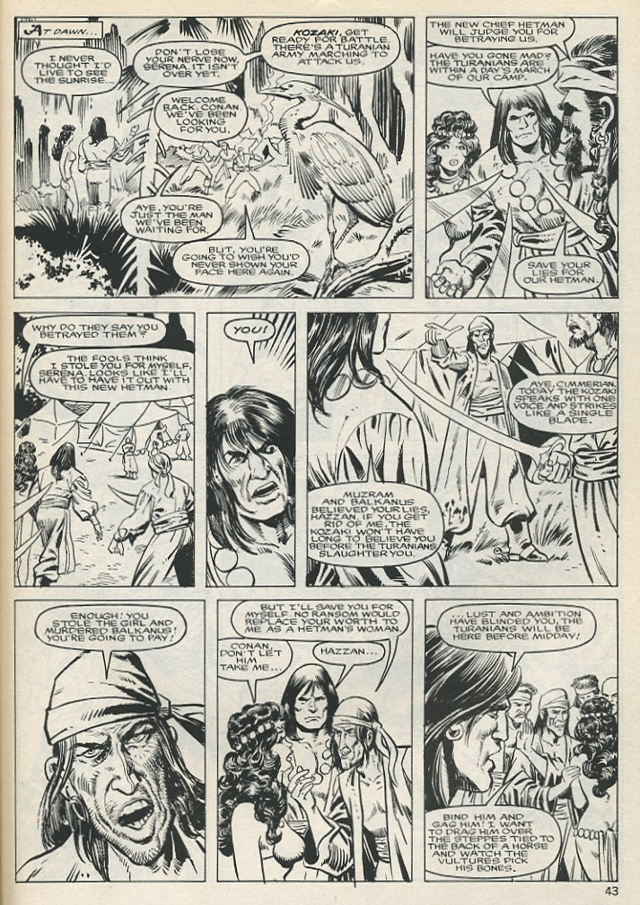 The Savage Sword Of Conan Issue #131 #132 - English 43