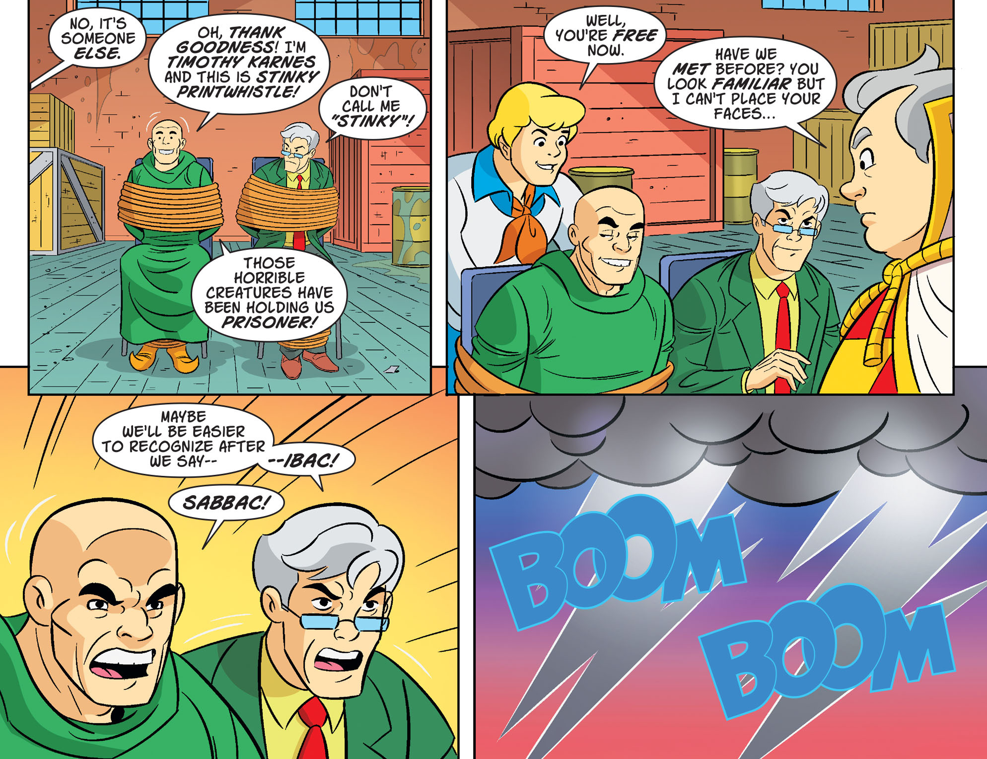 Read online Scooby-Doo! Team-Up comic -  Issue #31 - 17