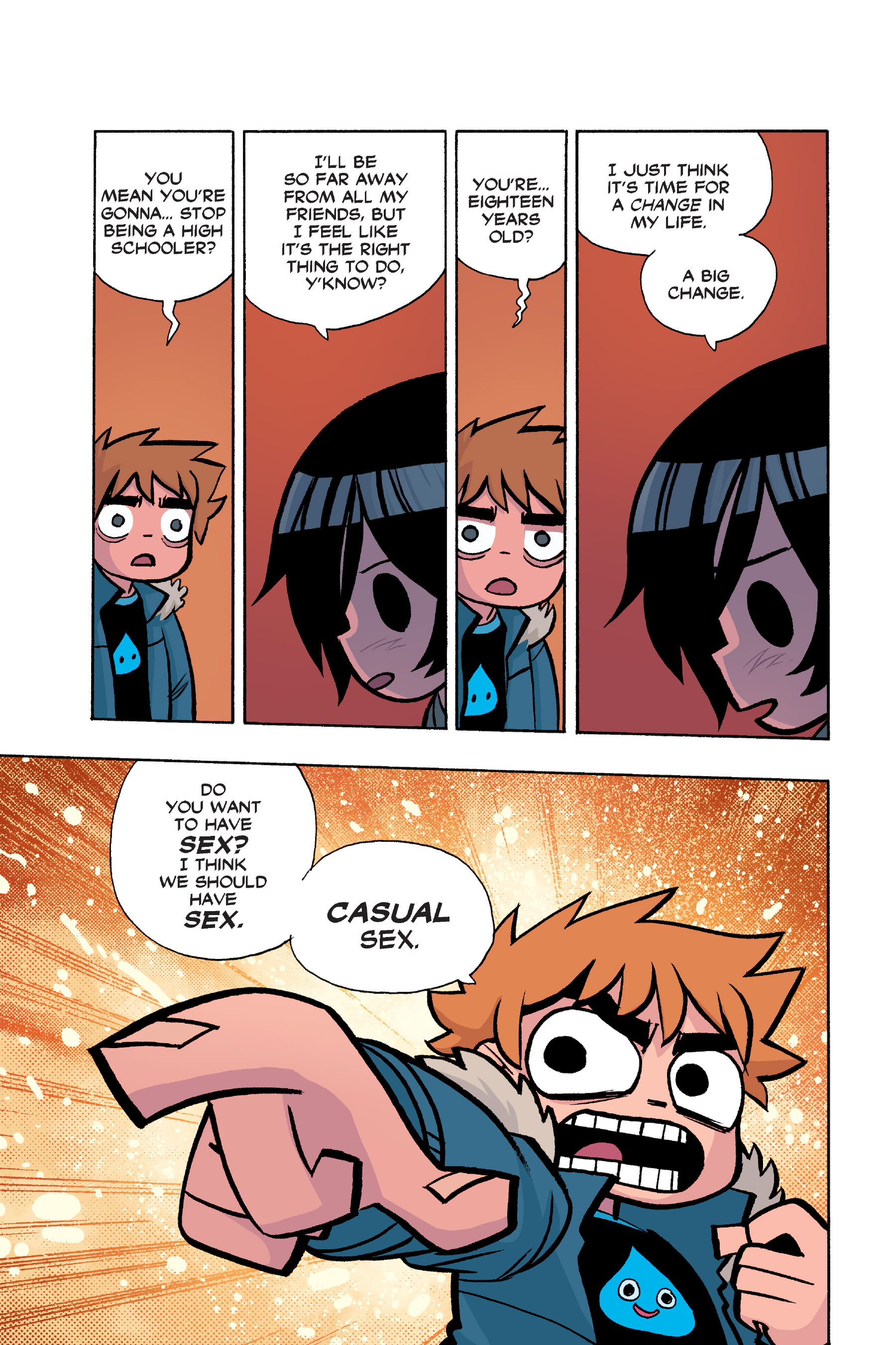 Read online Scott Pilgrim comic -  Issue #6 - 32
