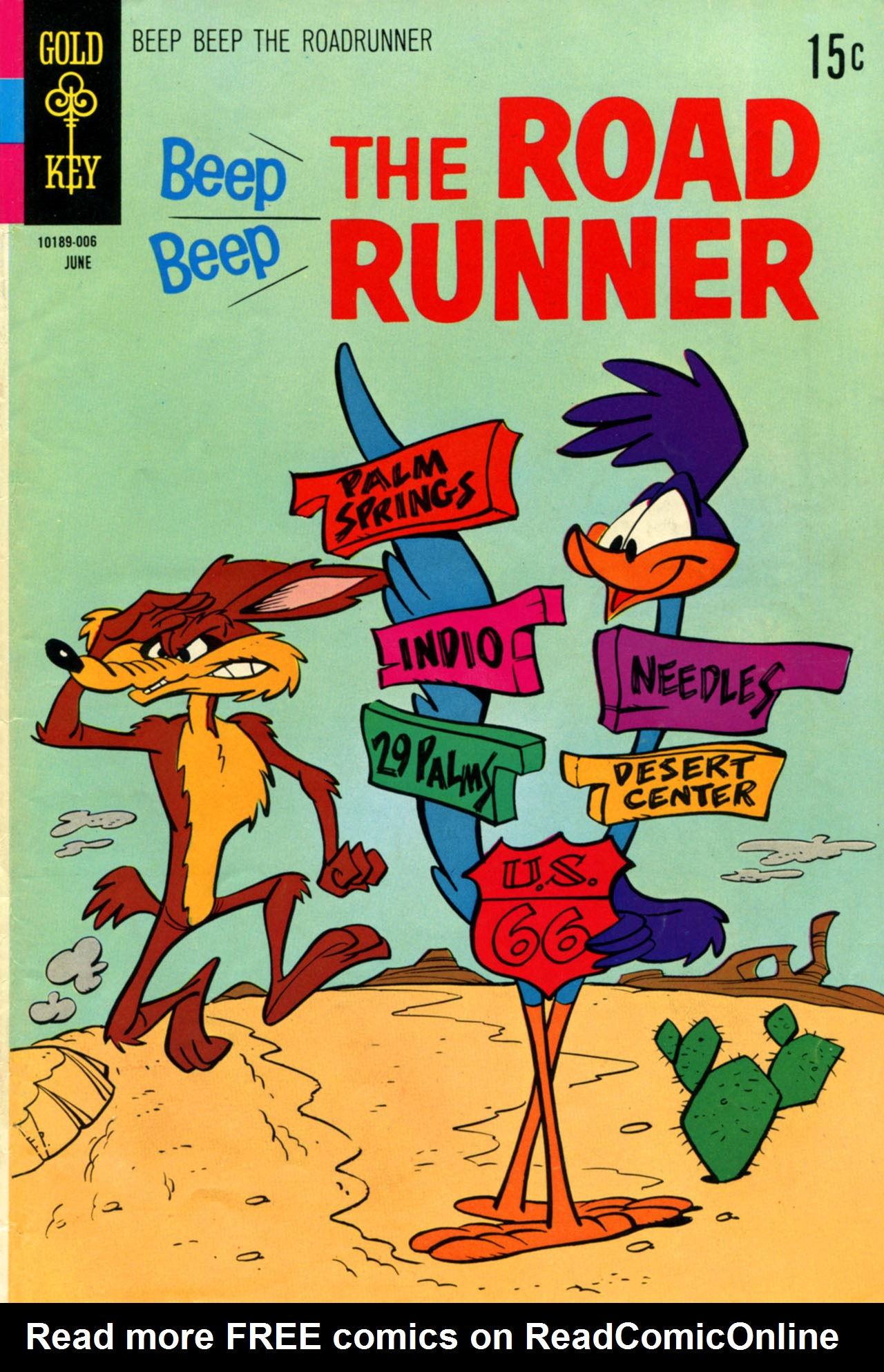 Beep Beep The Road Runner 18 Page 1