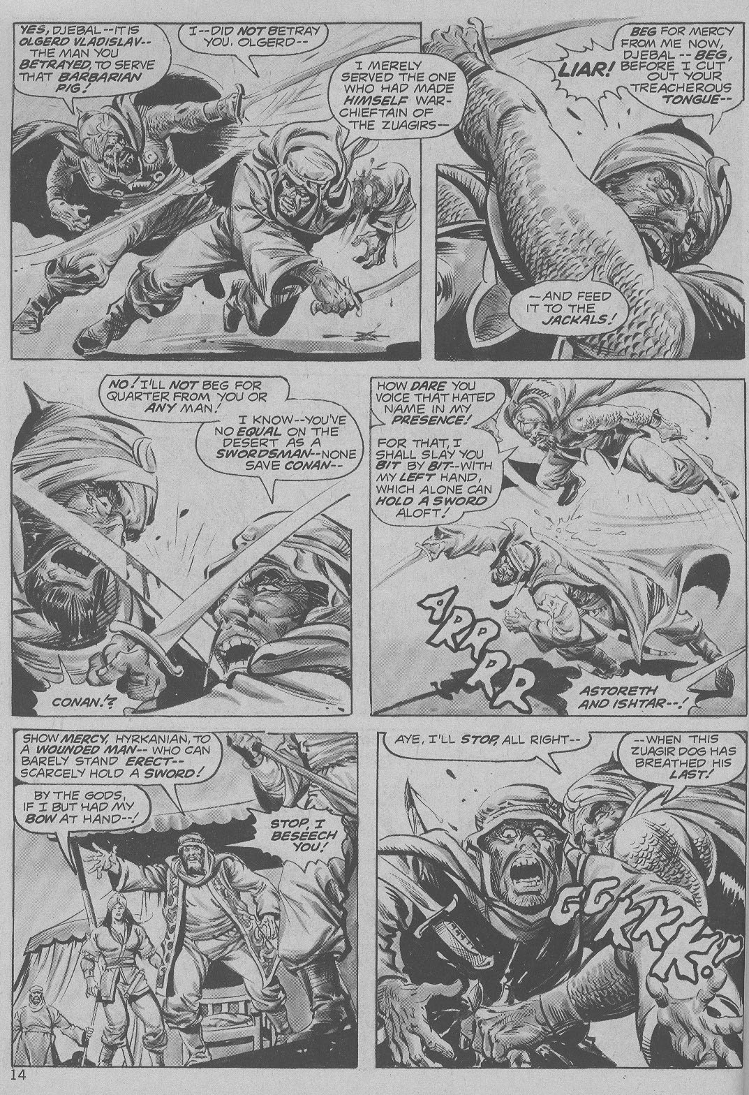 The Savage Sword Of Conan Issue #6 #7 - English 14
