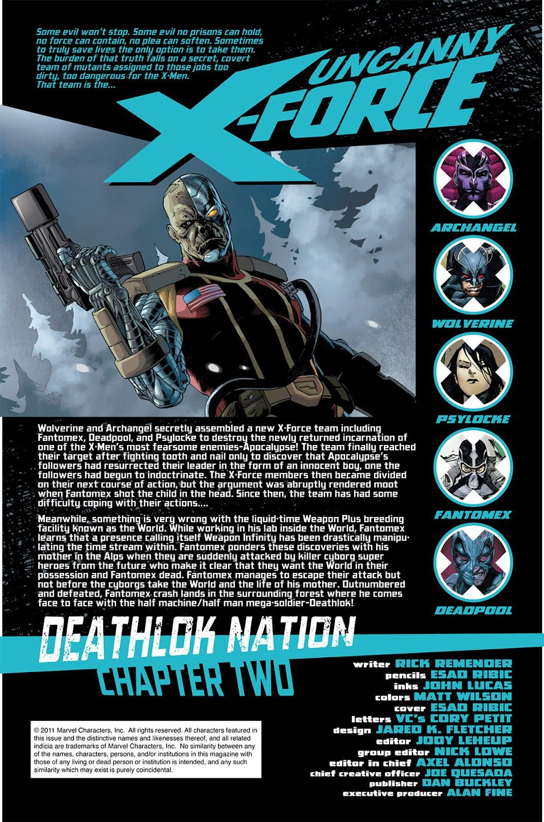 Uncanny X-Force (2010) Issue #6 #7 - English 2