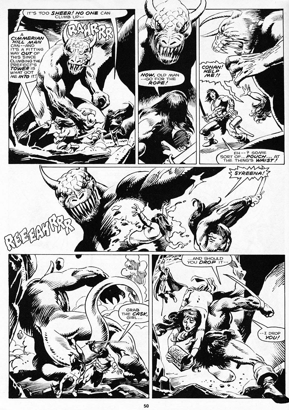 The Savage Sword Of Conan Issue #180 #181 - English 52