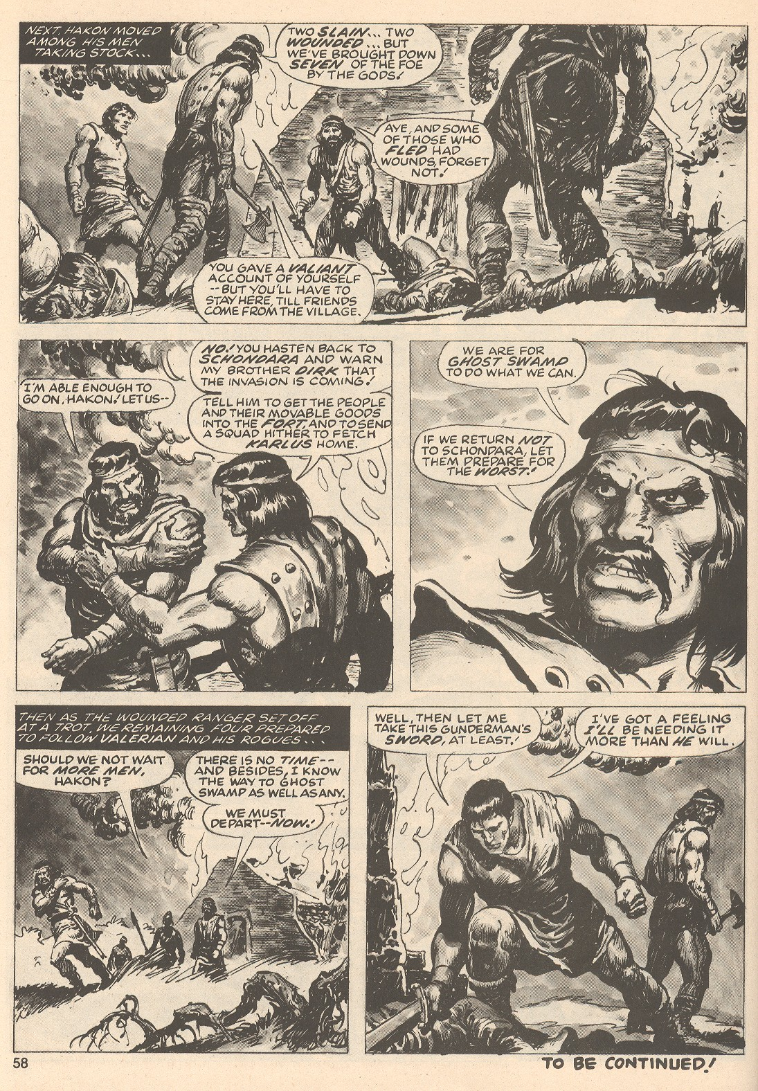 The Savage Sword Of Conan Issue #76 #77 - English 58