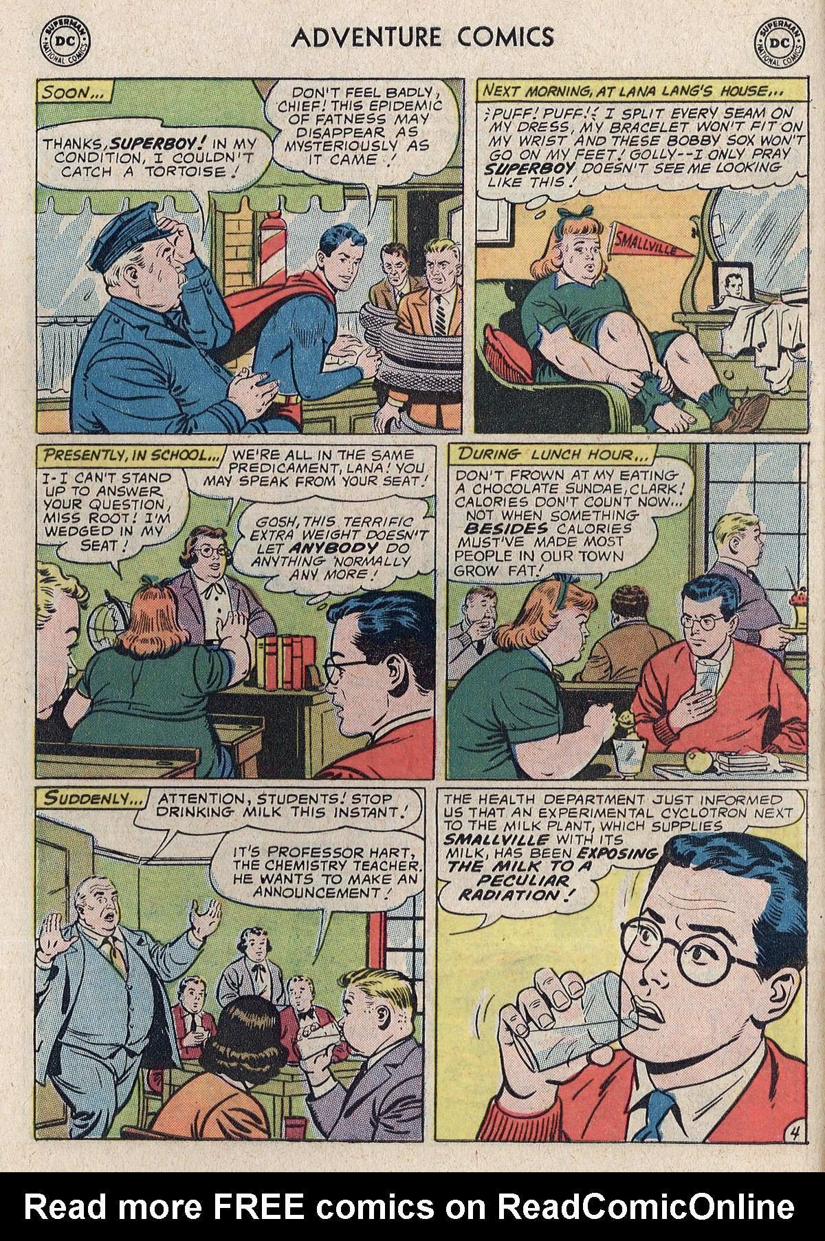 Read online Adventure Comics (1938) comic -  Issue #298 - 6