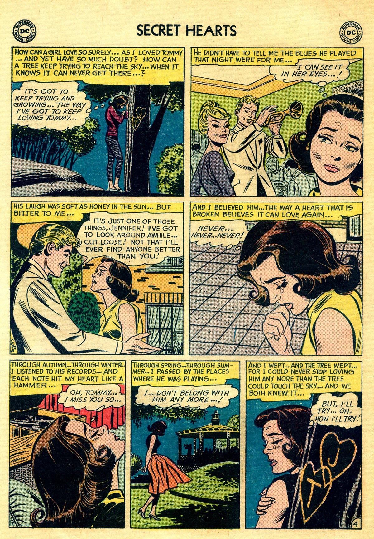 Read online Secret Hearts comic -  Issue #81 - 22