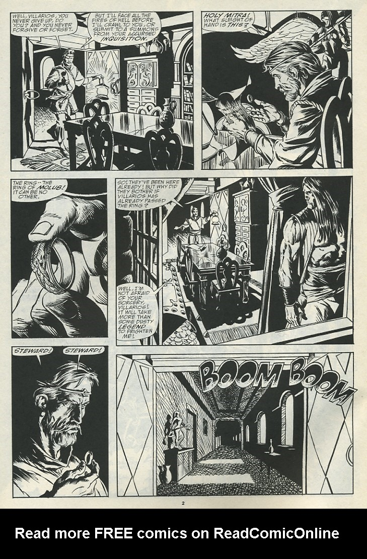 The Savage Sword Of Conan Issue #185 #186 - English 4