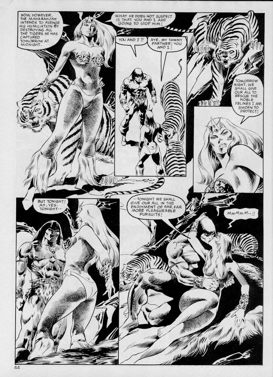 The Savage Sword Of Conan Issue #103 #104 - English 43