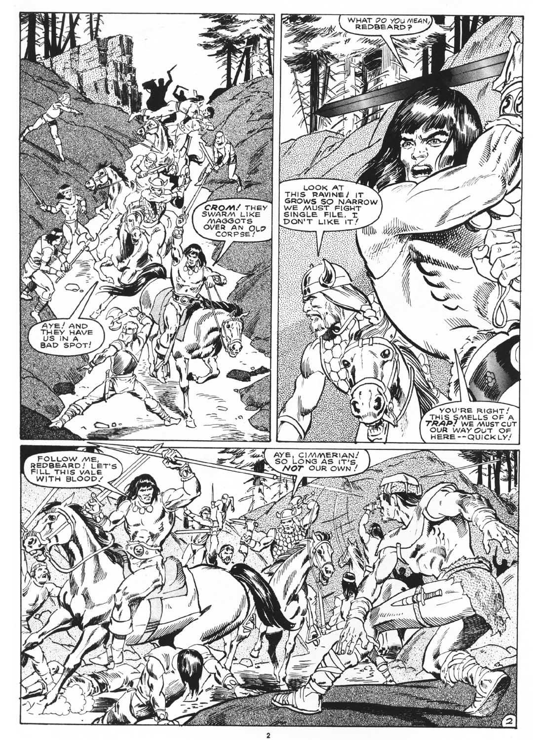 The Savage Sword Of Conan Issue #171 #172 - English 4